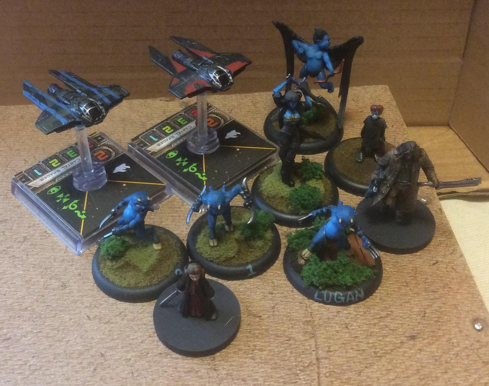 Lilith, M-3a, Malifaux, Neverborn, Syck, Terror Tots