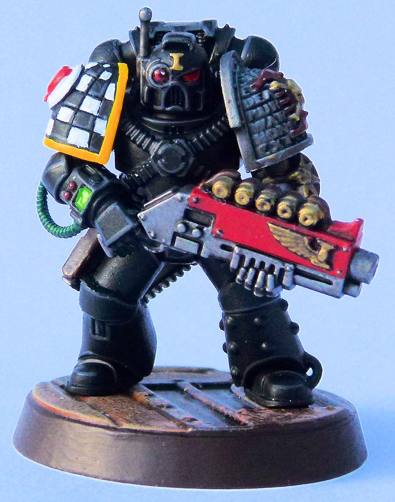 Lamenters Deathwatch Veteran Front