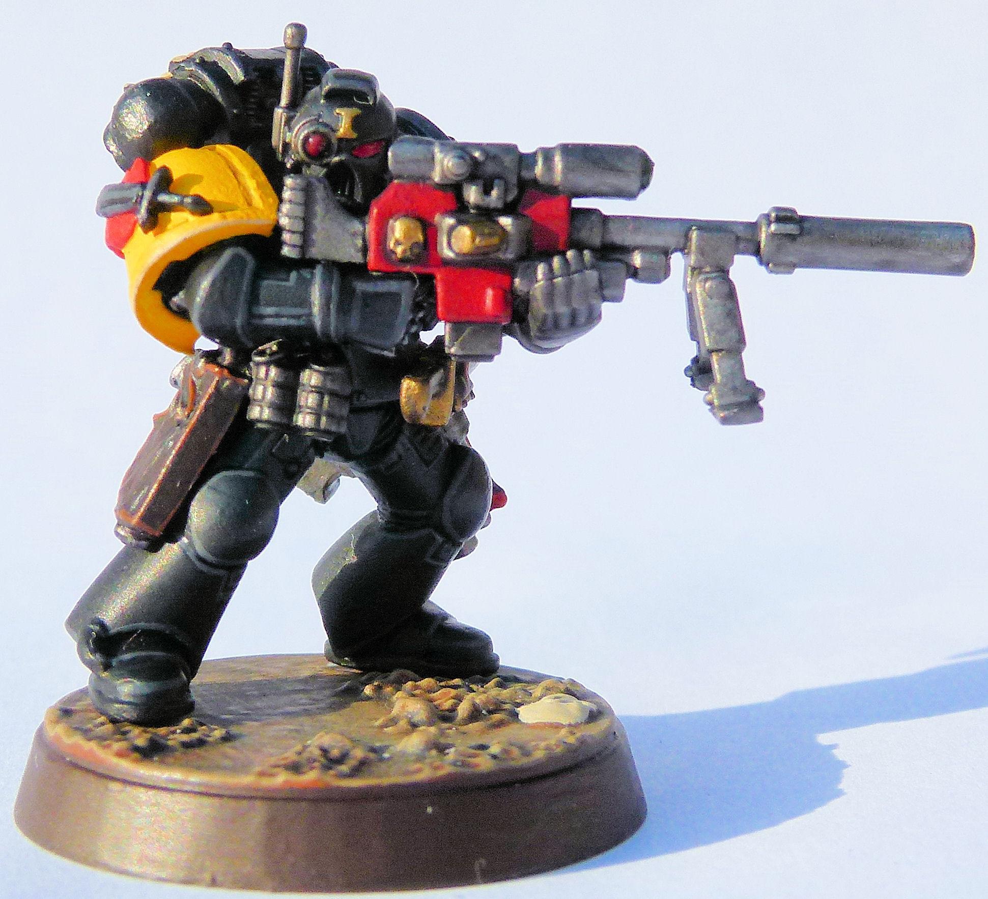 Marauders Deathwatch Veteran Front