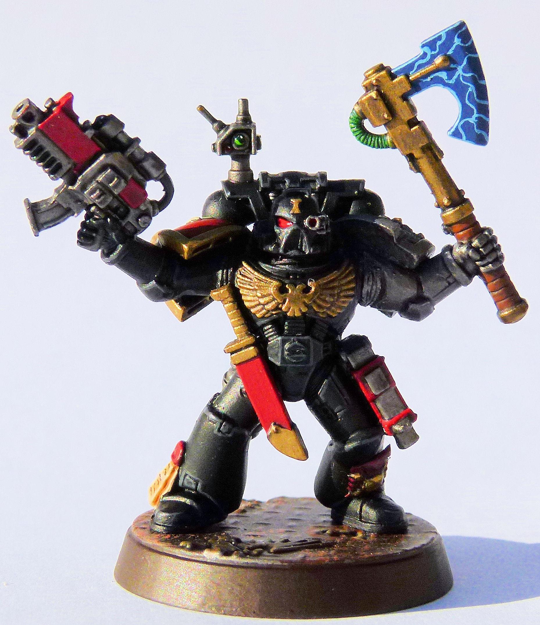 White Minotaur Deathwatch Veteran Front