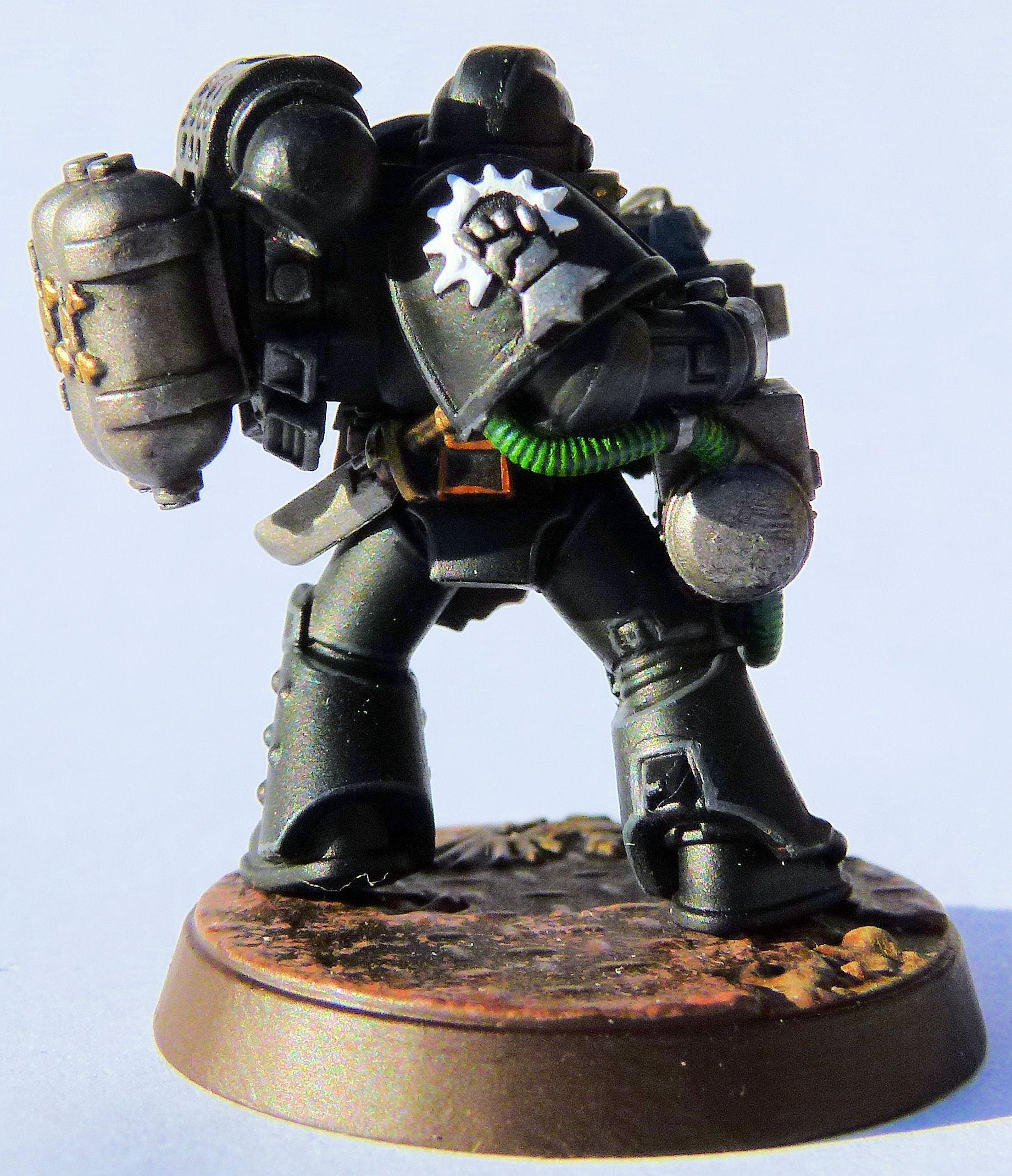 Iron Lords Deathwatch Veteran Right