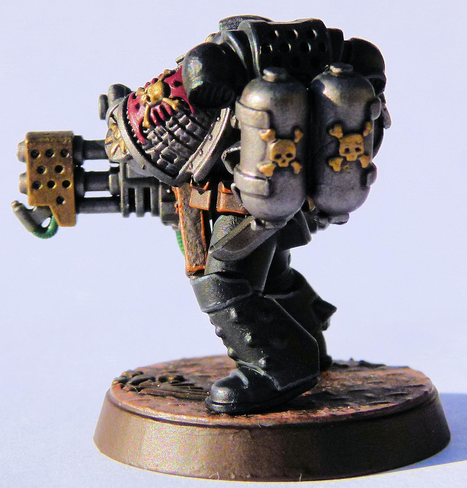 Iron Lords Deathwatch Veteran Rear