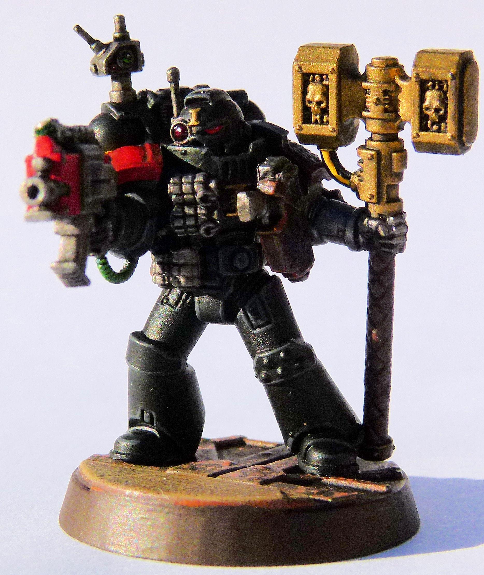 Fire Lords Deathwatch Veteran Front