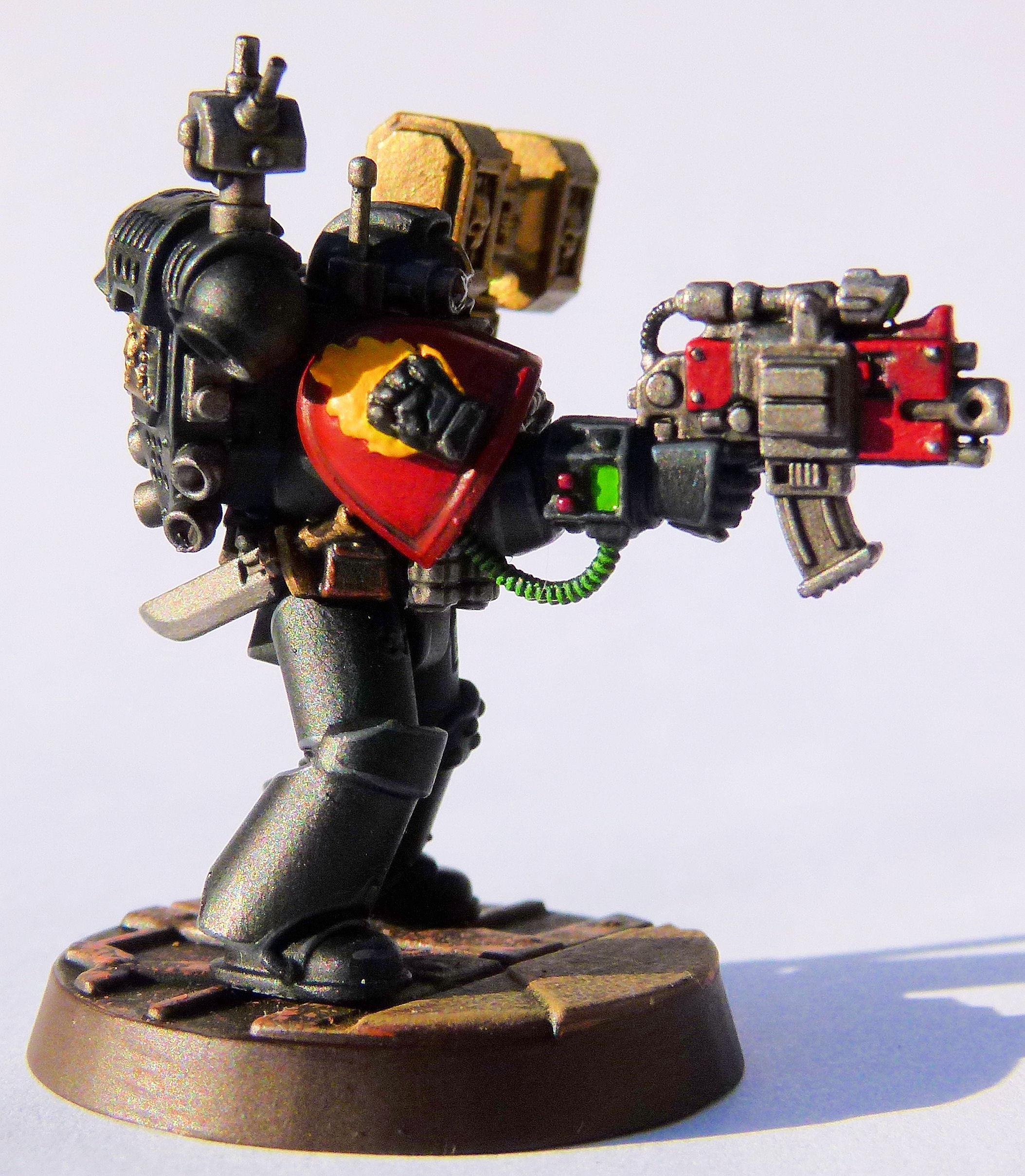 Fire Lords Deathwatch Veteran Right