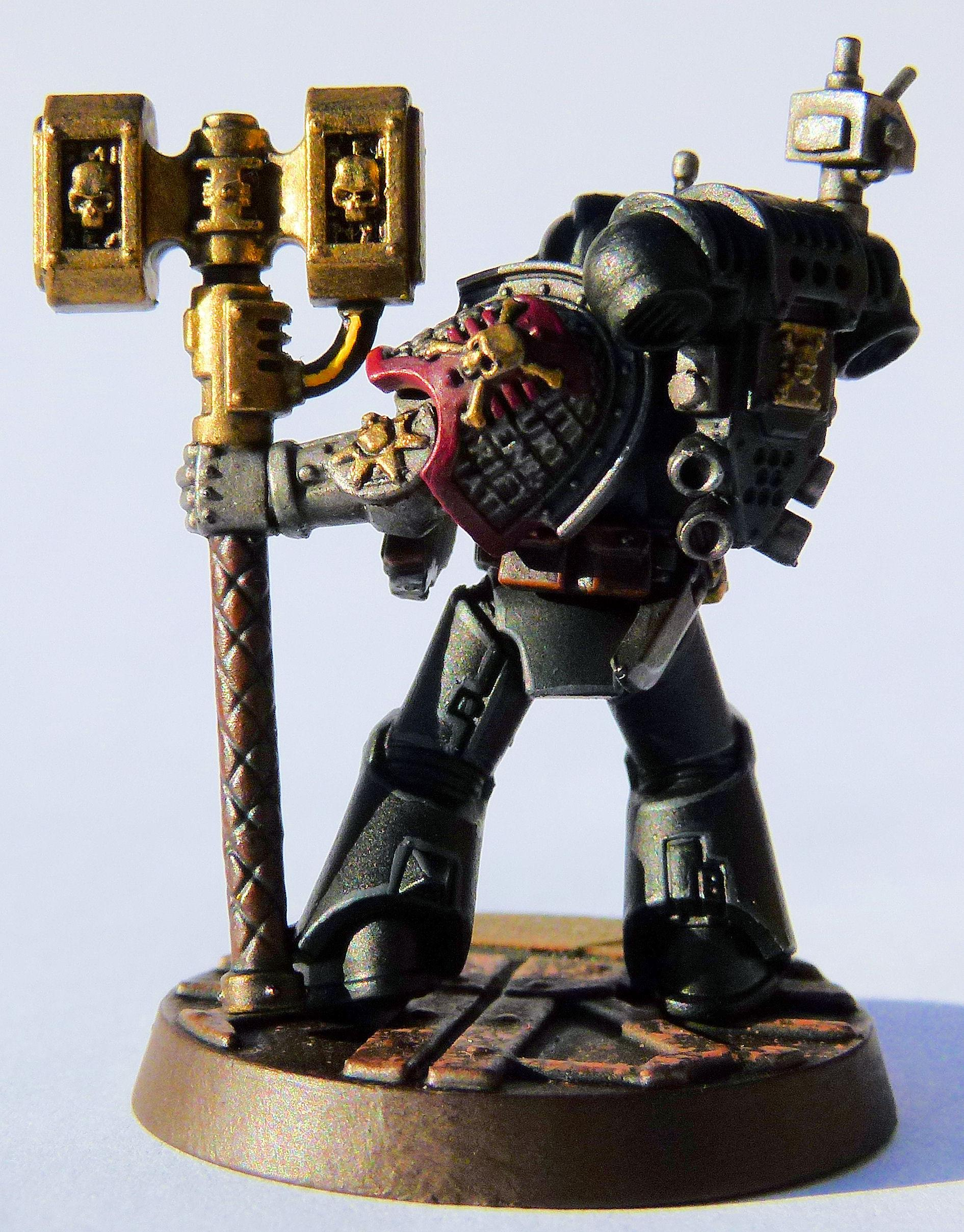 Fire Lords Deathwatch Veteran Rear