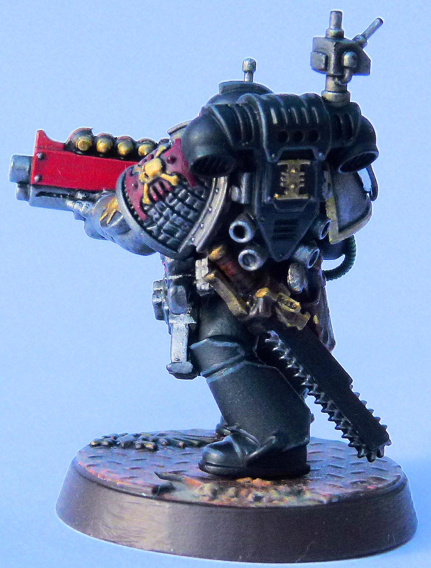Brotherhood of a Thousand Deathwatch Veteran Rear