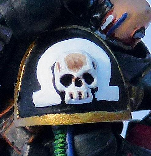 Omega Marine Deathwatch Veteran Shoulder Pad