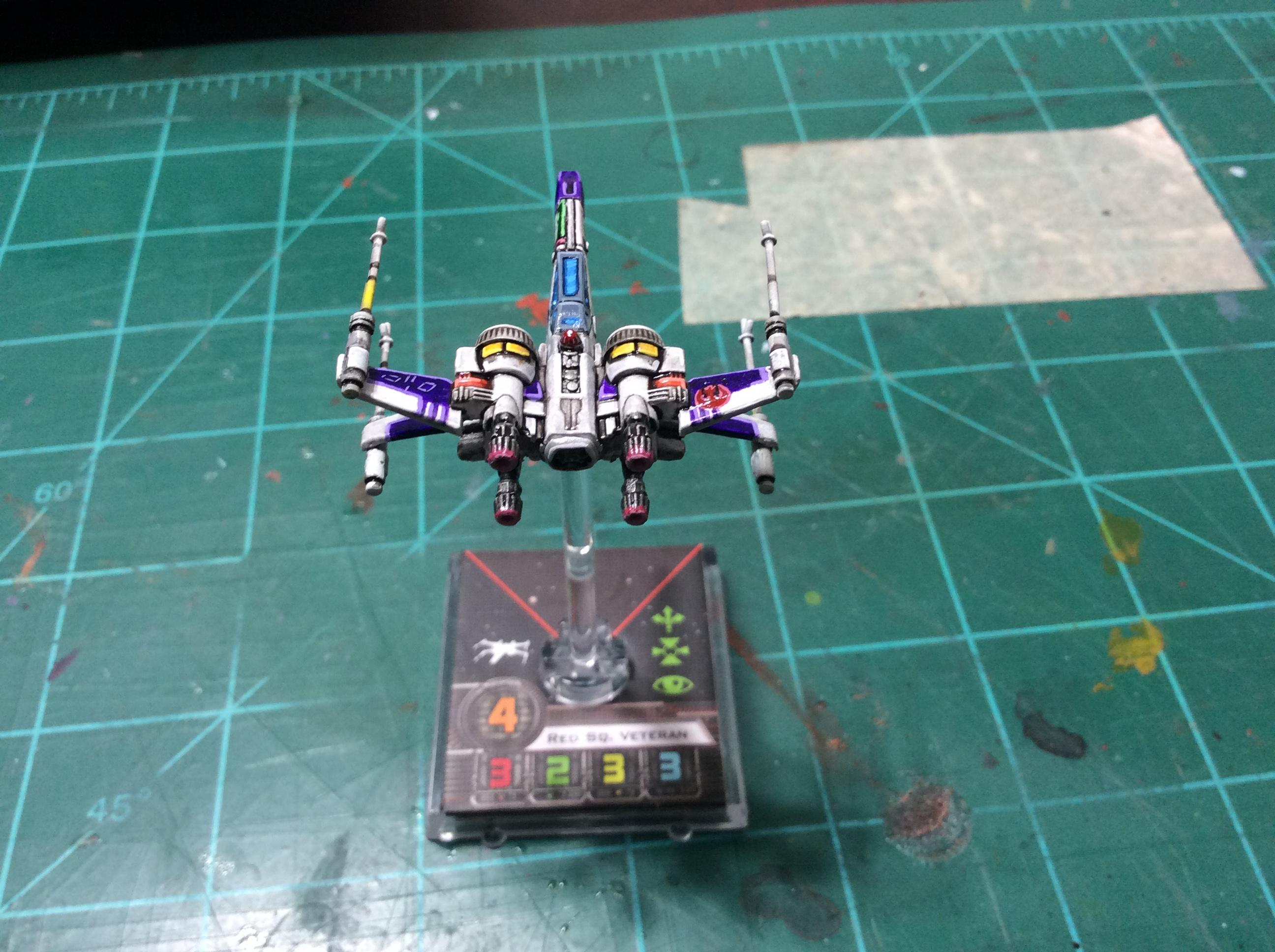 1/270, 1:270, Miniature, Star Wars, X-wing Miniature Board Game
