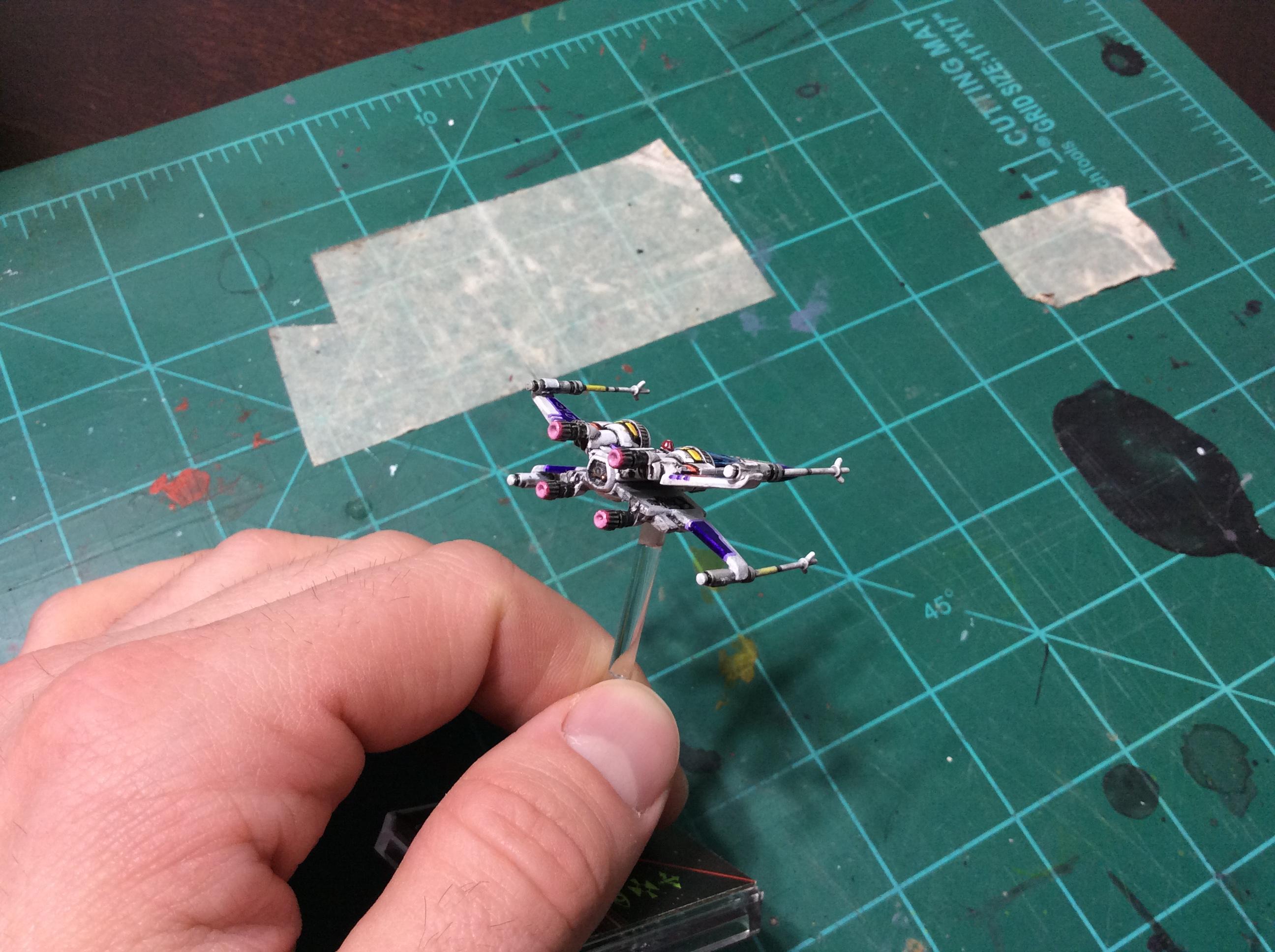 1/270, 1:270, Miniature, Star Wars, X-wing Miniature Board Game