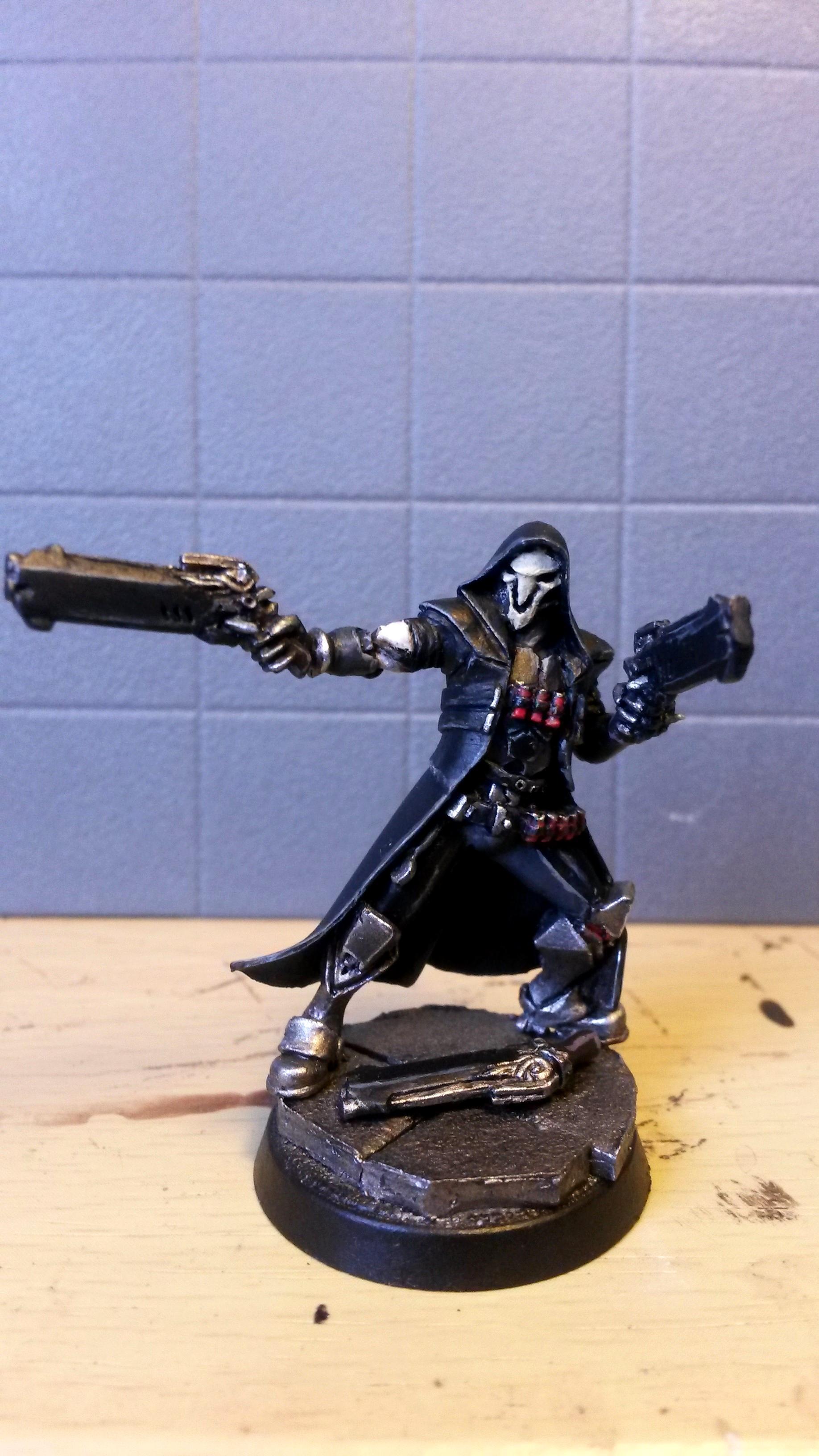 Klukva, Overwatch, Reaper