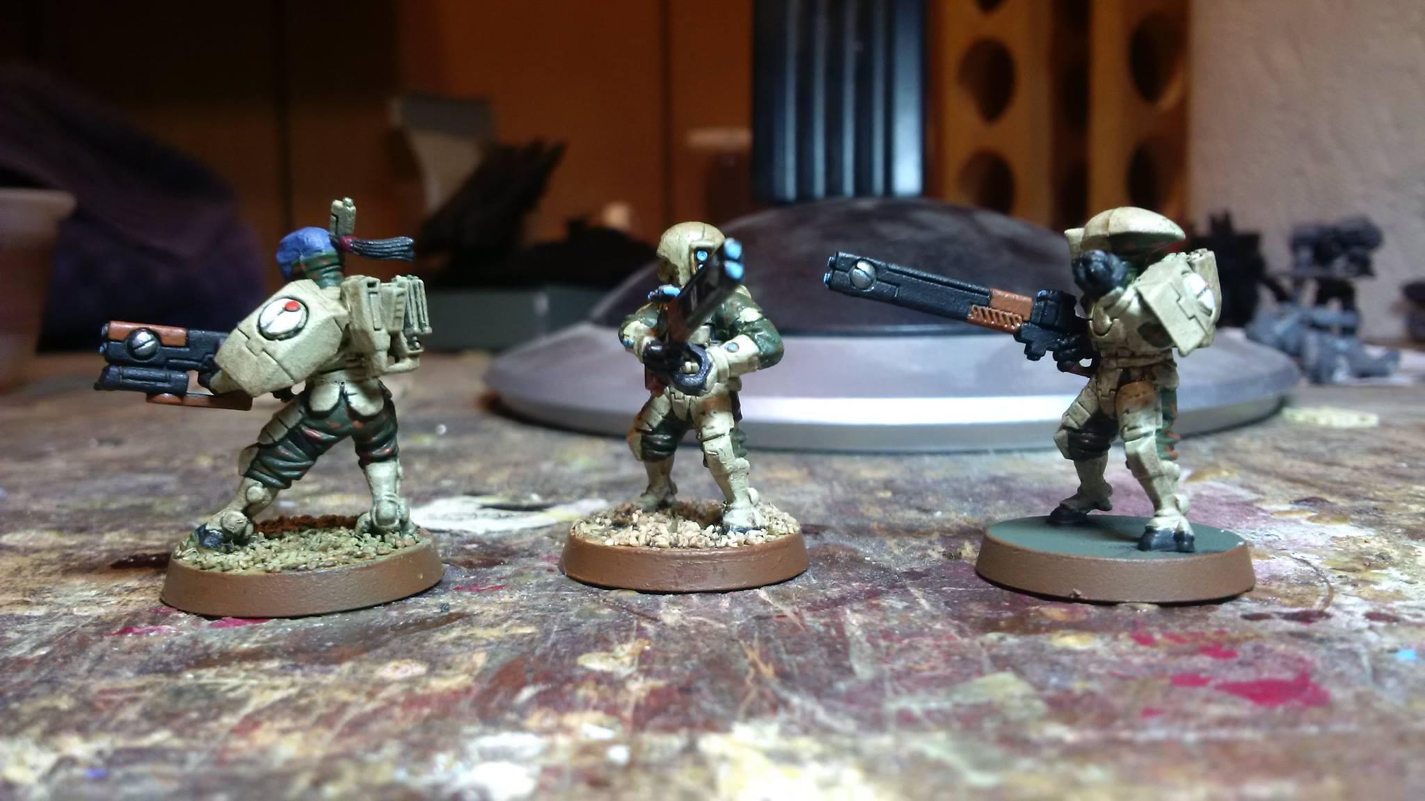 Camo Tau, Camouflage, Fire Warriors, Tau