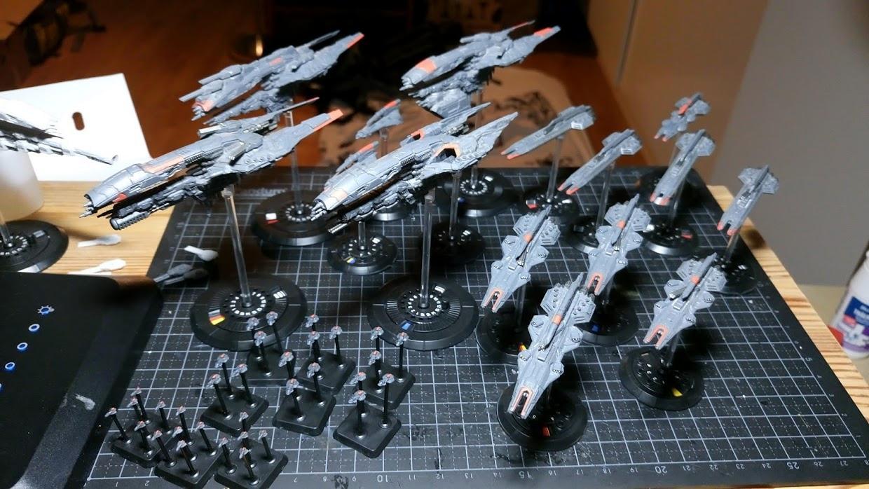 Carrier, Corvettes, Cruiser, Dfc, Dropfleet, Dropfleet Commander, Frigates, Ucm