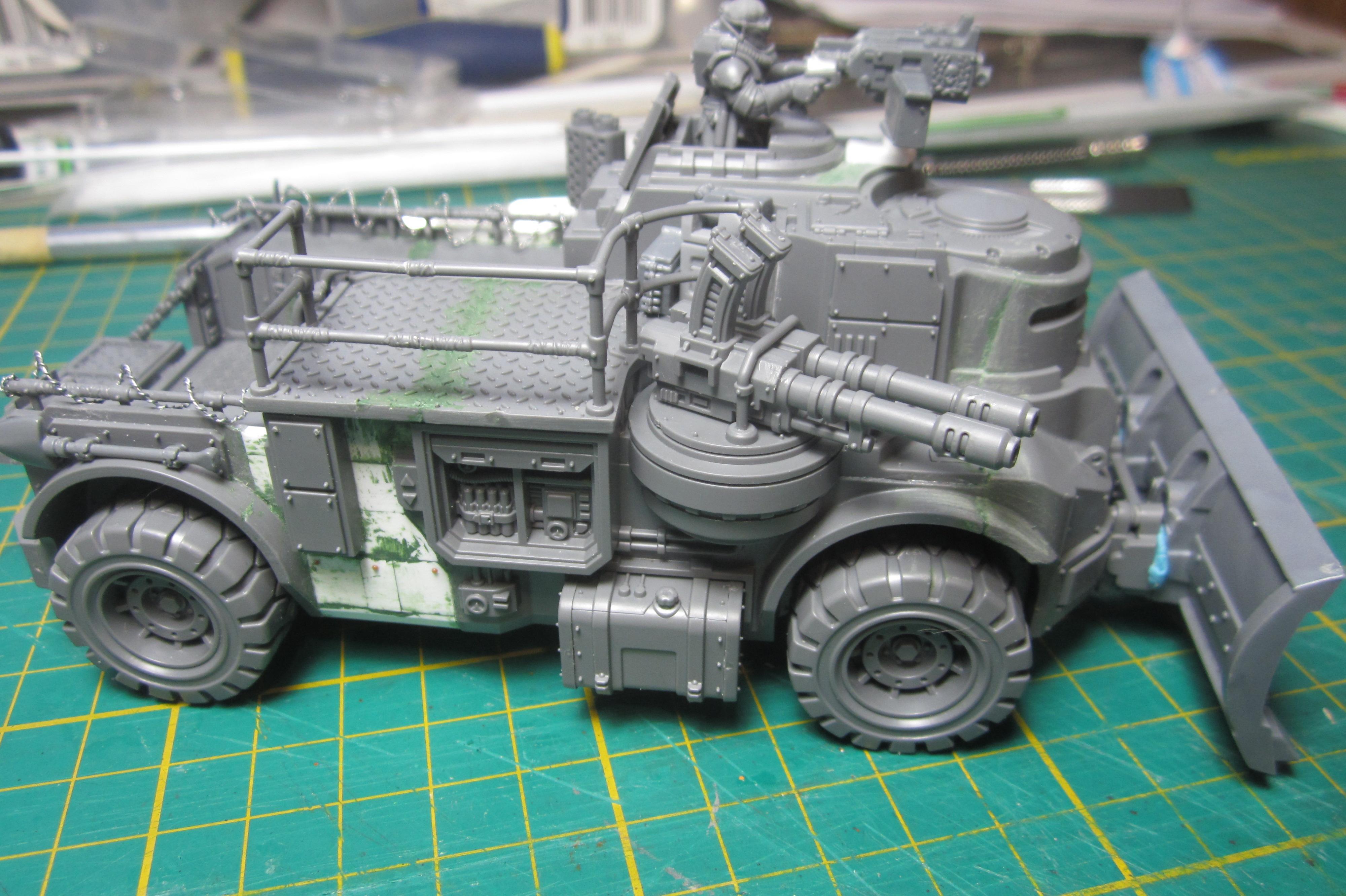 Civilian, Conversion, Genestealer Cult, Goliath Truck, Gorkamorka, Imperial Guard, Necromunda, Warhammer 40,000