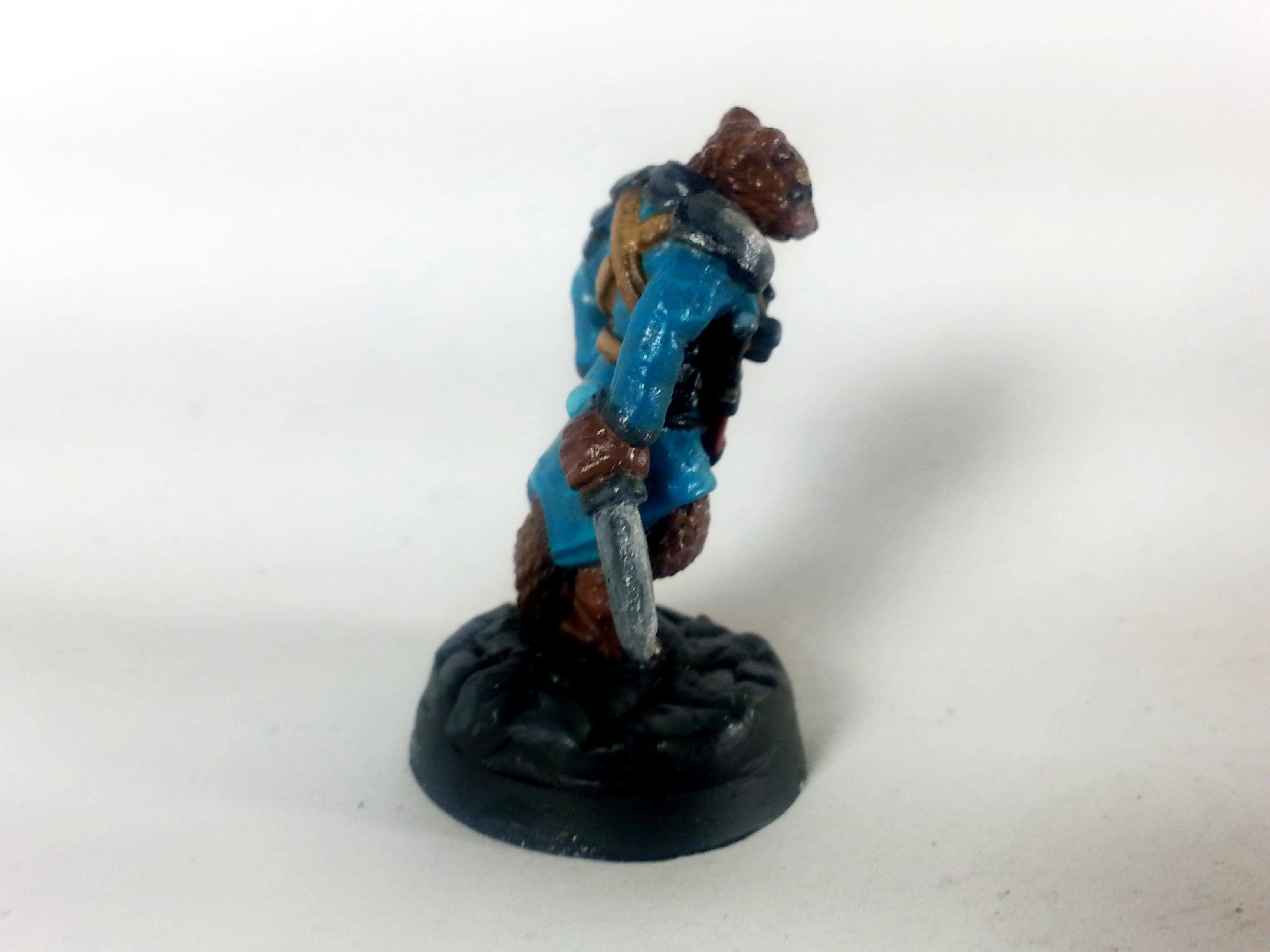 28mm, Anthro, Dakka Painting Contest 2016, Ferret, I Guess, Knives, Oathsworn