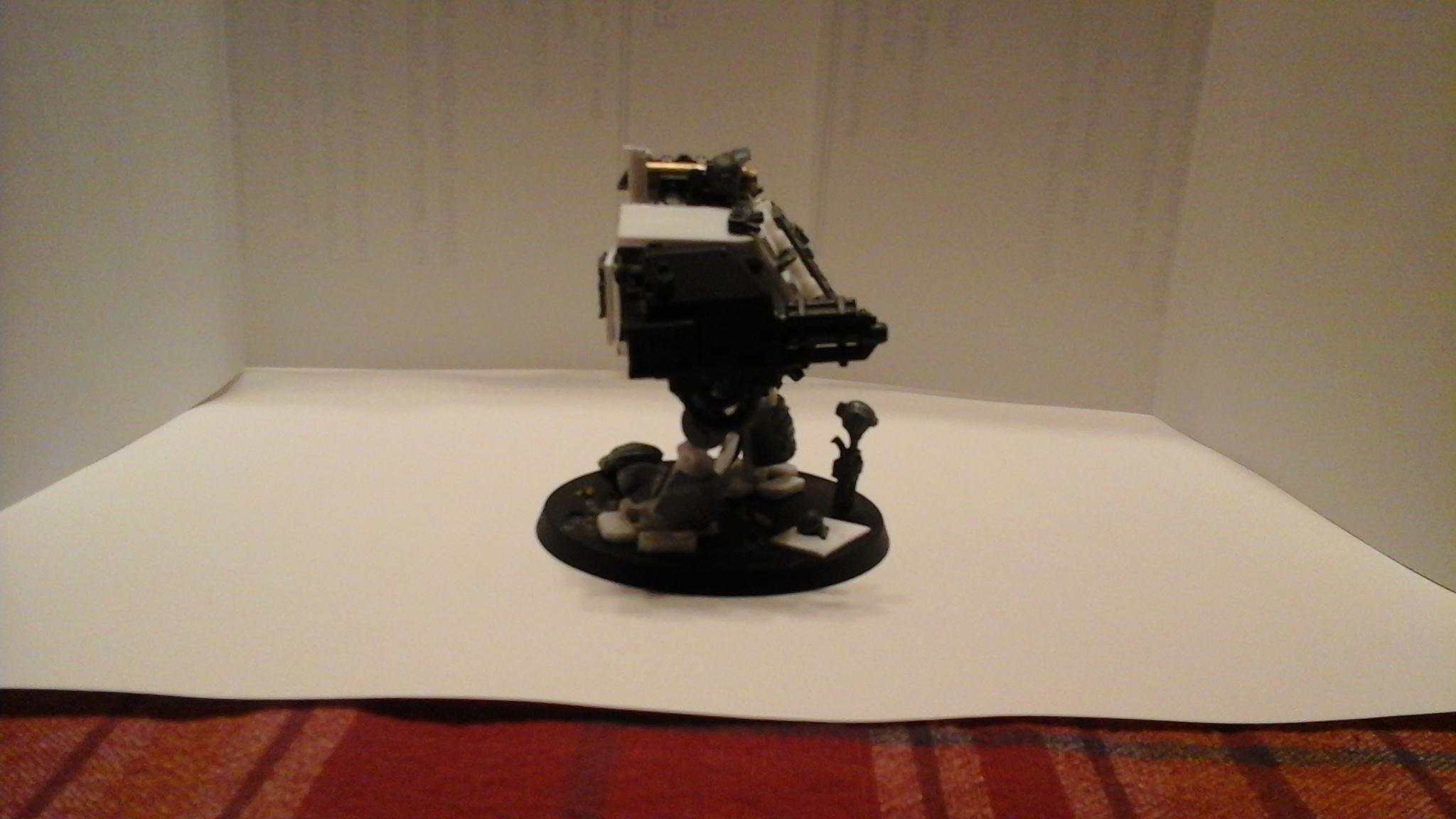 Dreadnought, Imperial Fists, Ironclad, Scratch Build, Space Marines, Warhammer 40,000