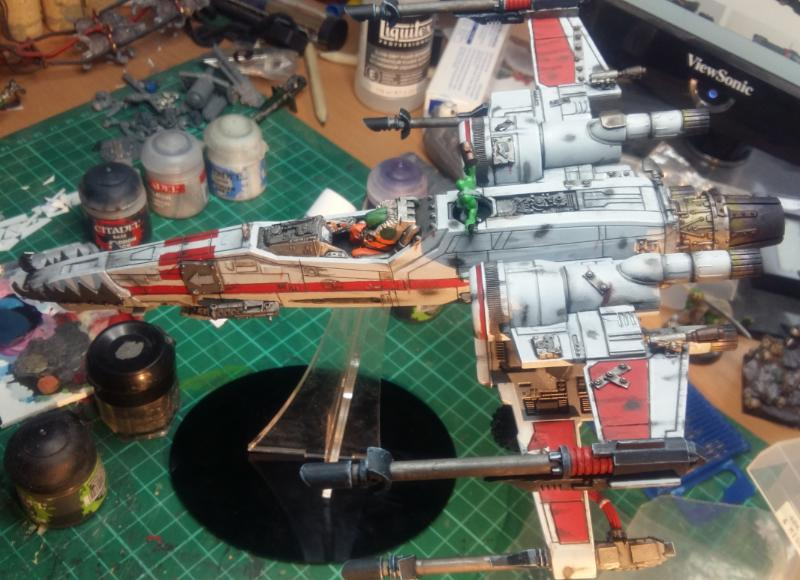 Looted, Orks, Work In Progress, X-Wing