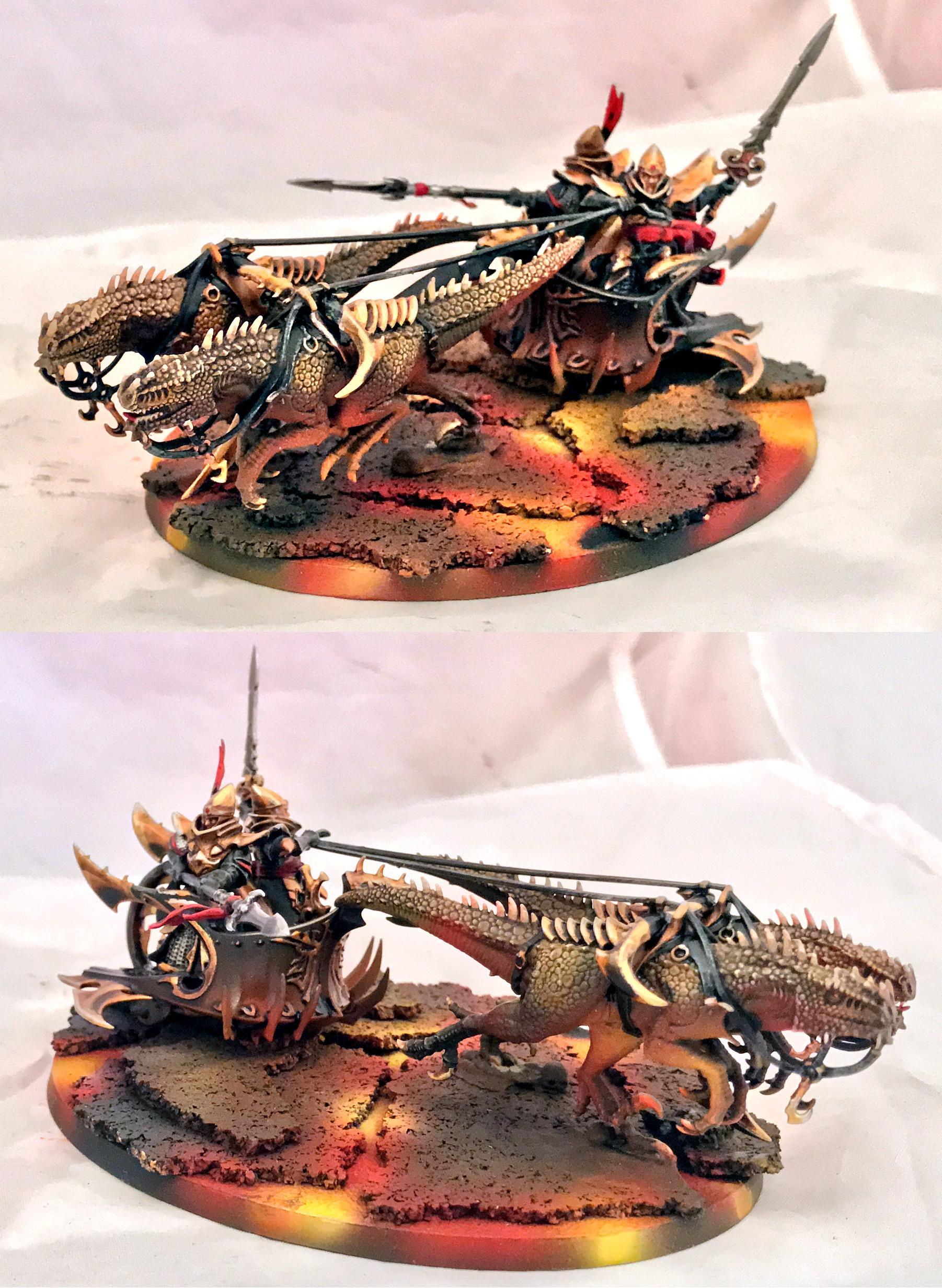 Aeloran, Chariot, Lizards