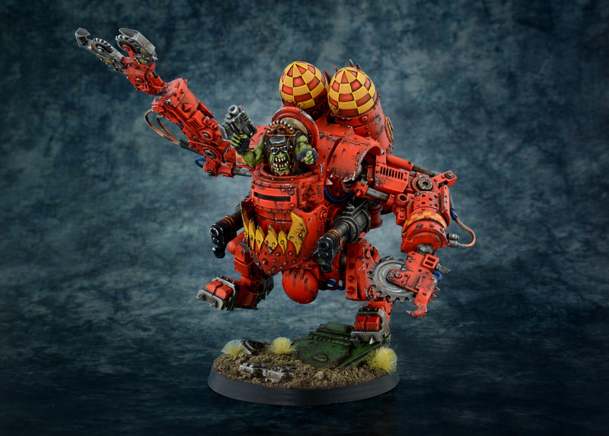 Deff Dread, Orks, Walker, Warhammer 40,000