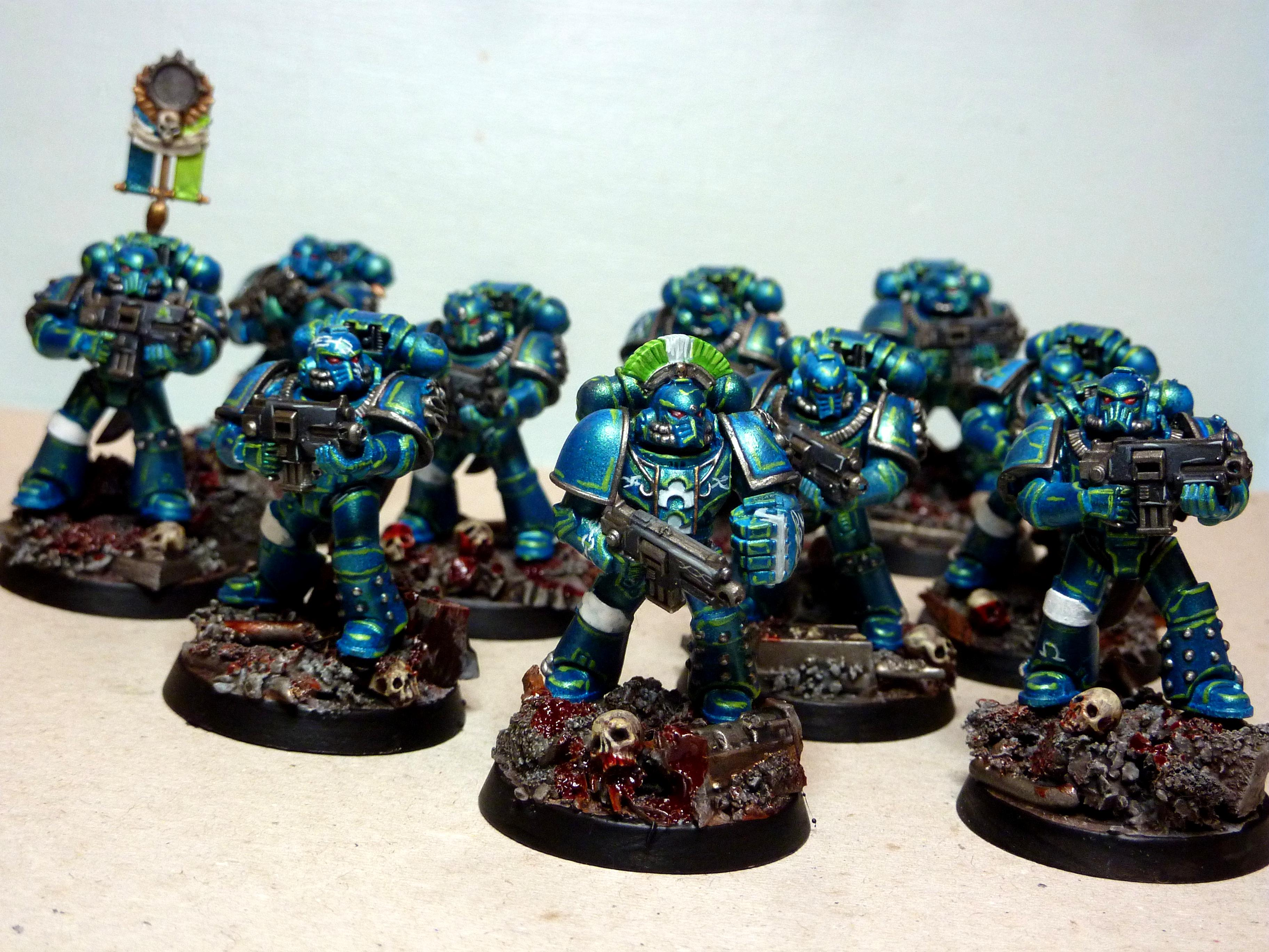 30k Alpha Legion, Al, Alpha Legion, Alpha Legion Freehand, Alpha Legion Iconography, Alpha Legion Tactical Squad, Freehand Scales, Scales