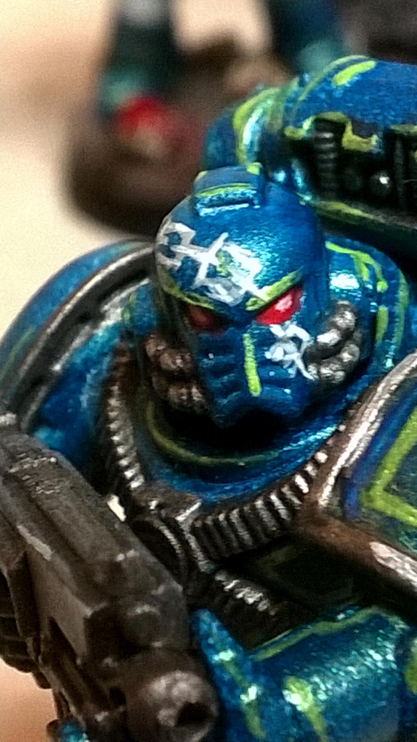 30k Alpha Legion, Alpha Legion, Alpha Legion Freehand, Alpha Legion Iconography, Alpha Legion Tactical Squad, Freehand Scales, Scales