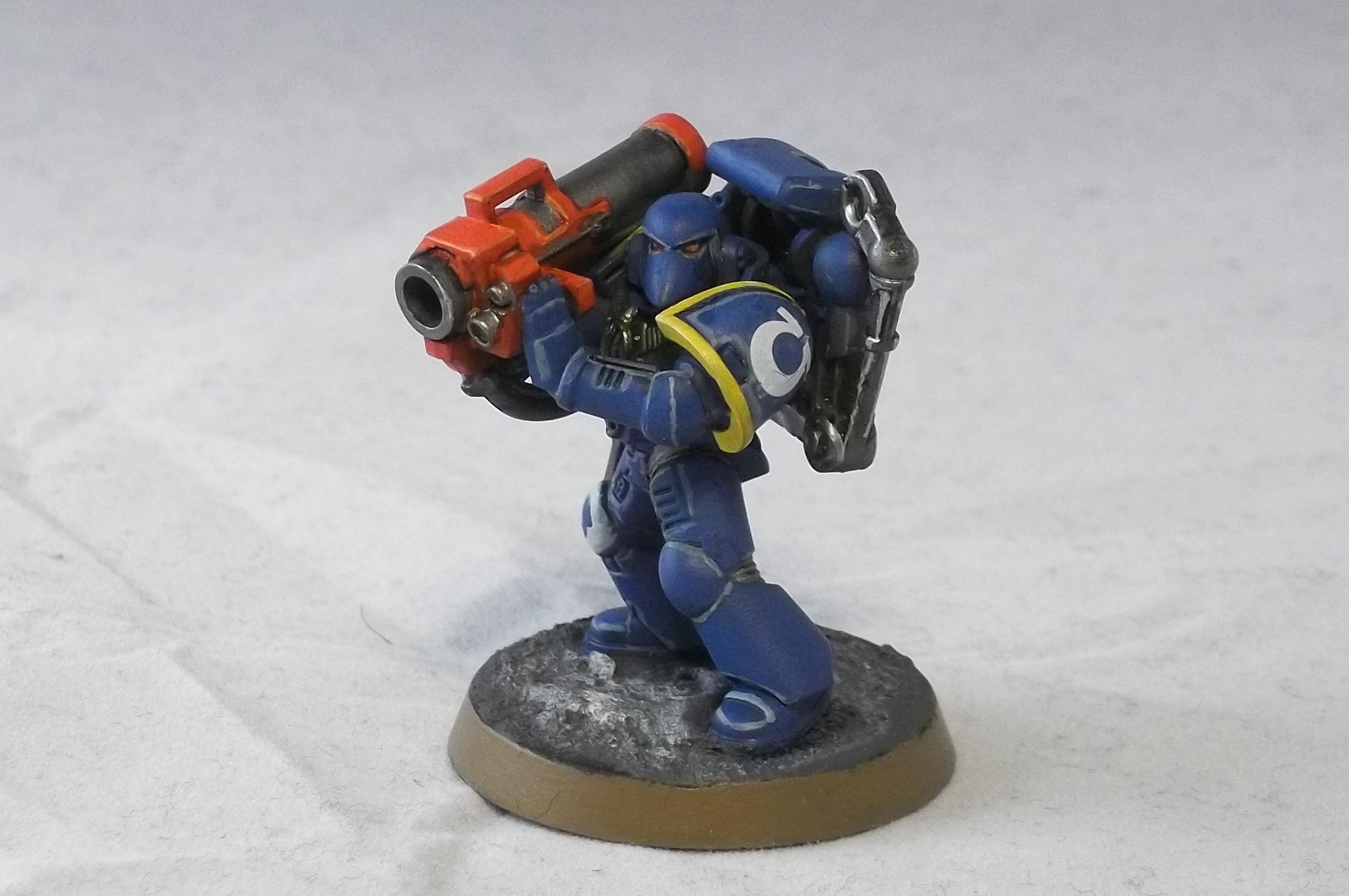 2nd Edition, Missile Launcher, Retro, Tactical Squad, Ultramarines