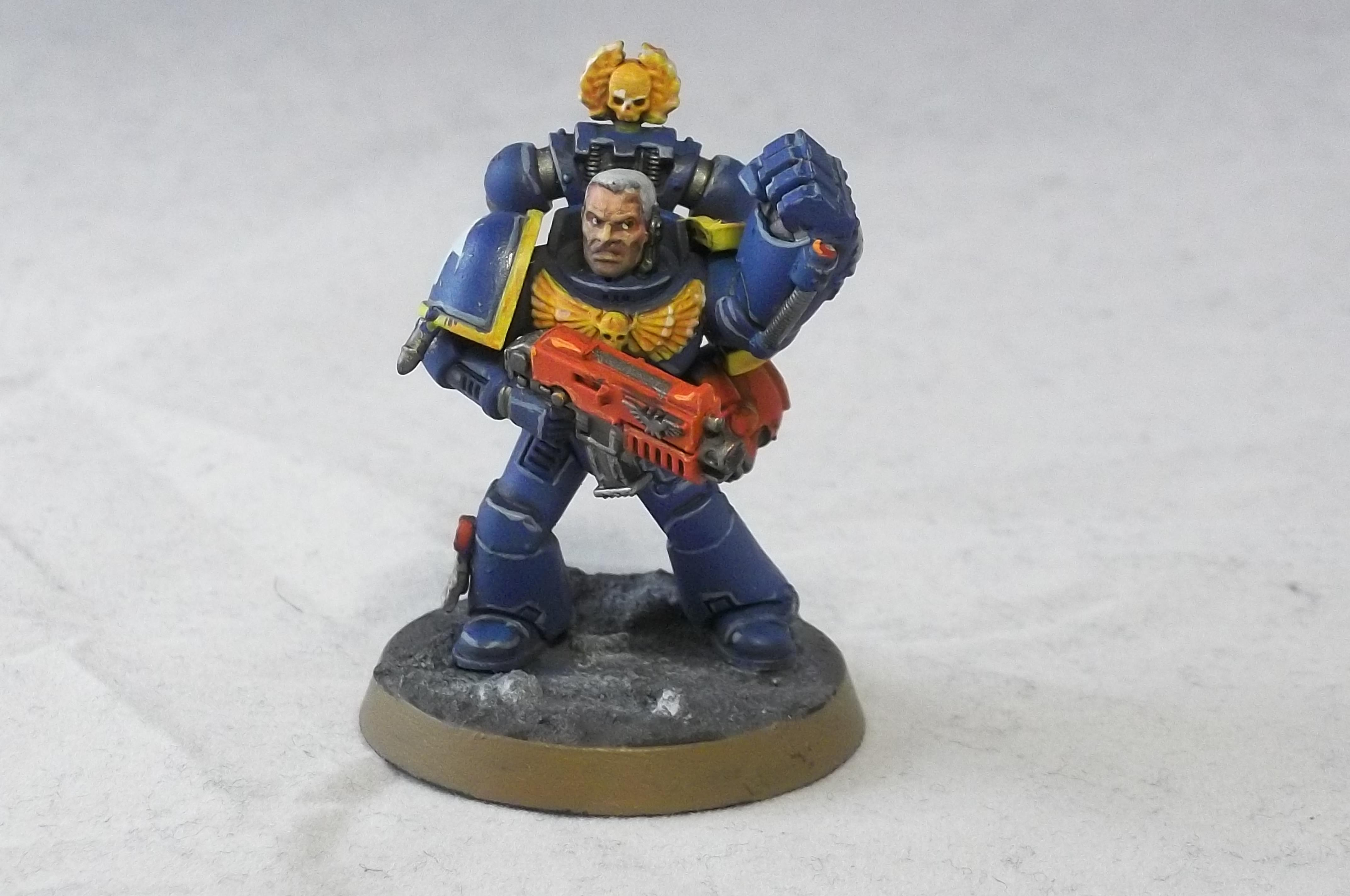 2nd Edition, Retro, Sergeant, Tactical Squad, Ultramarines