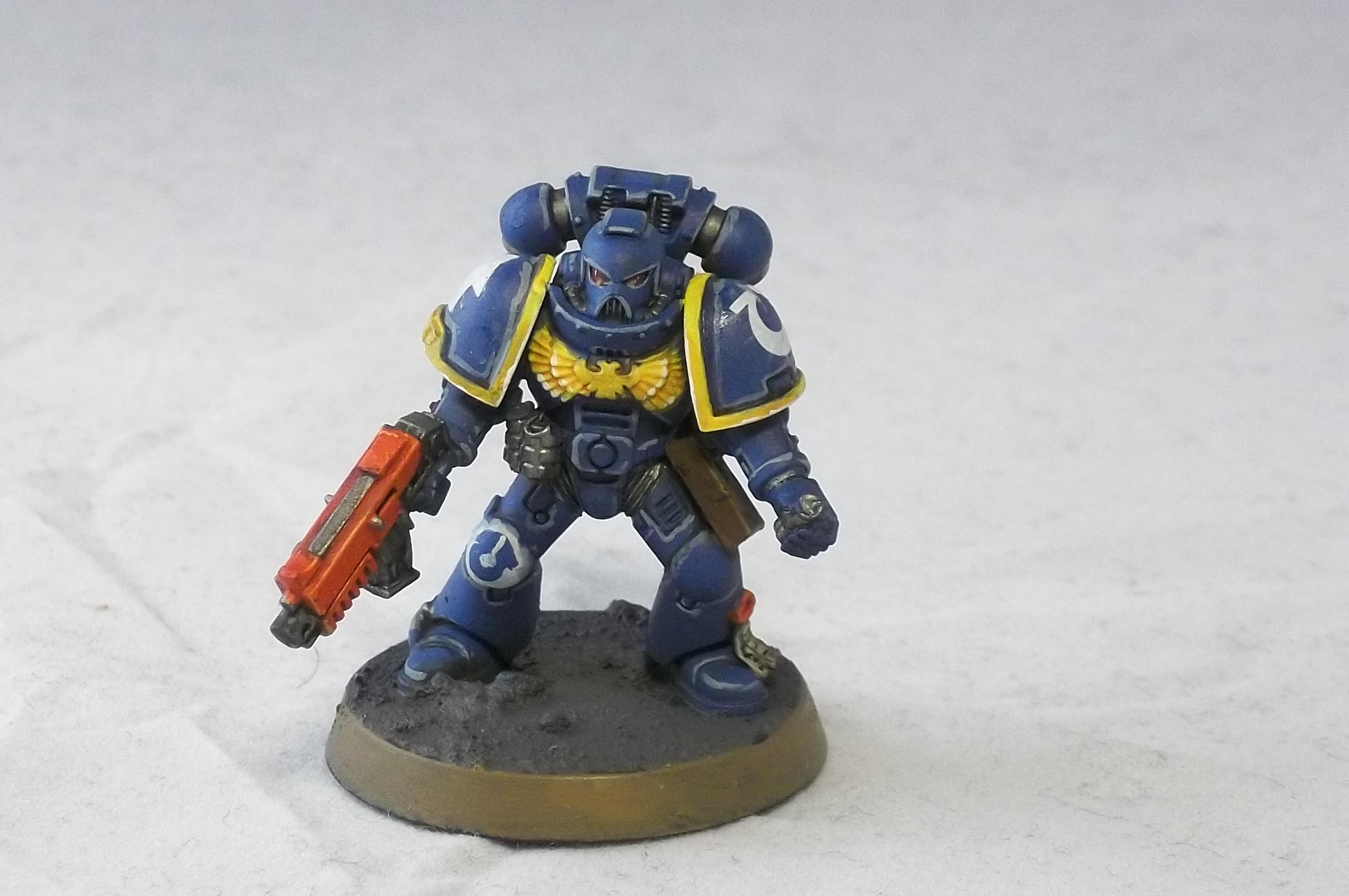 2nd Edtion, Retro.ultramarines, Tactical Squad