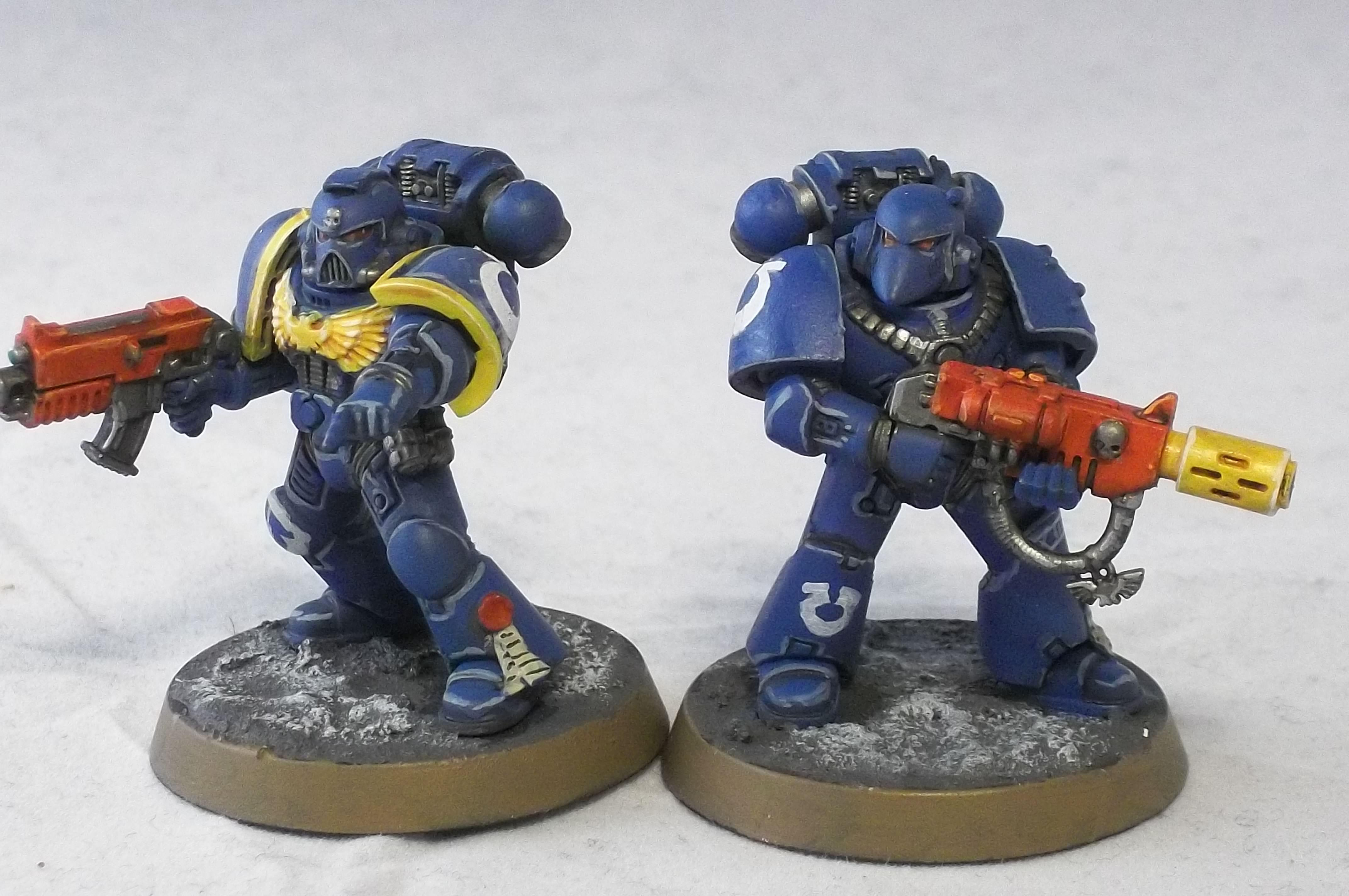 2nd Edition, Beakie, Retro, Rogue Trader, Tactical Squad, Ultramarines