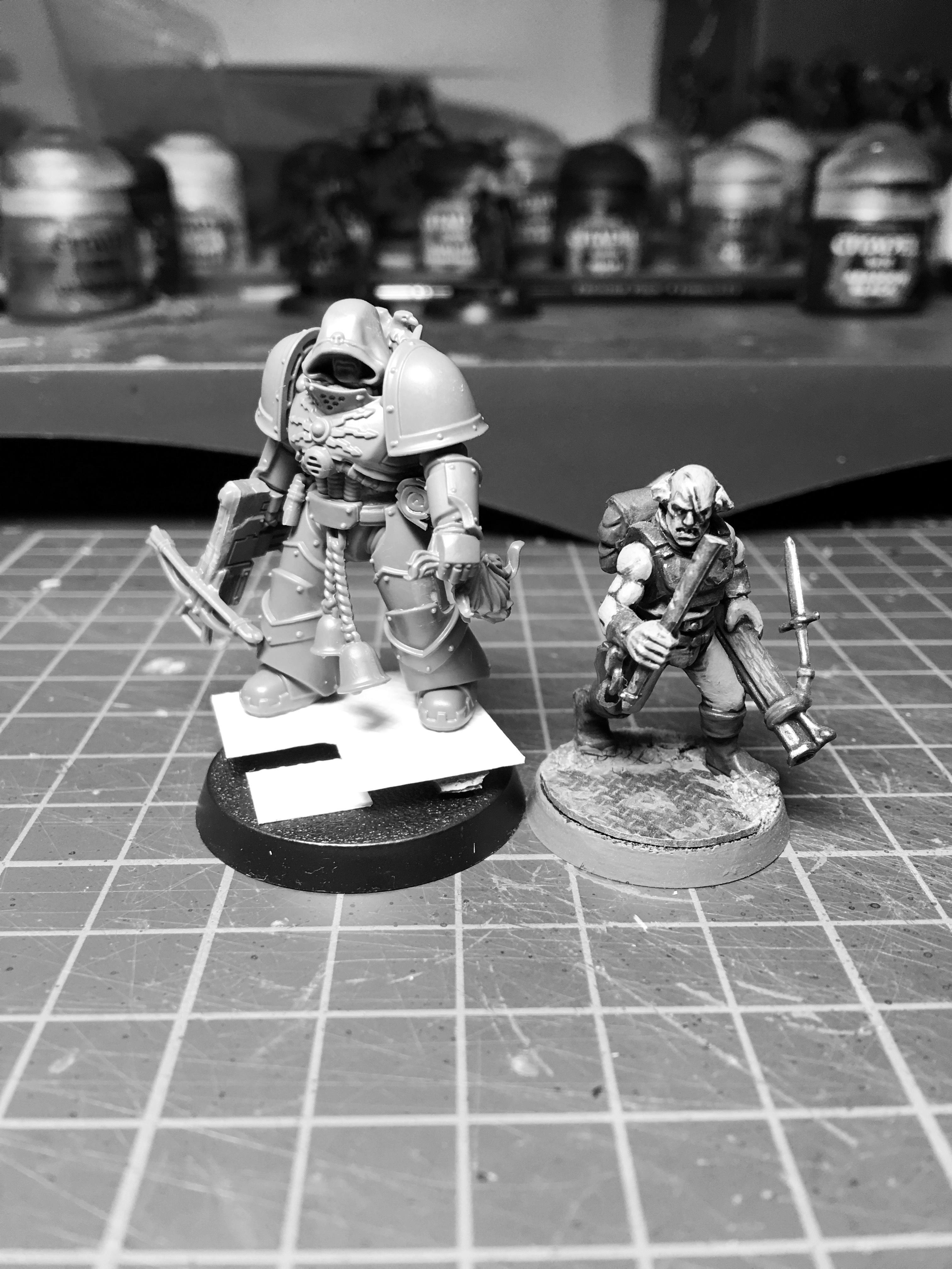 Art Scale Space Marine, Inq28, Inquisitor, Ordo Malleus Inquisitor, True Scale Inquisitor, Warhammer 40,000