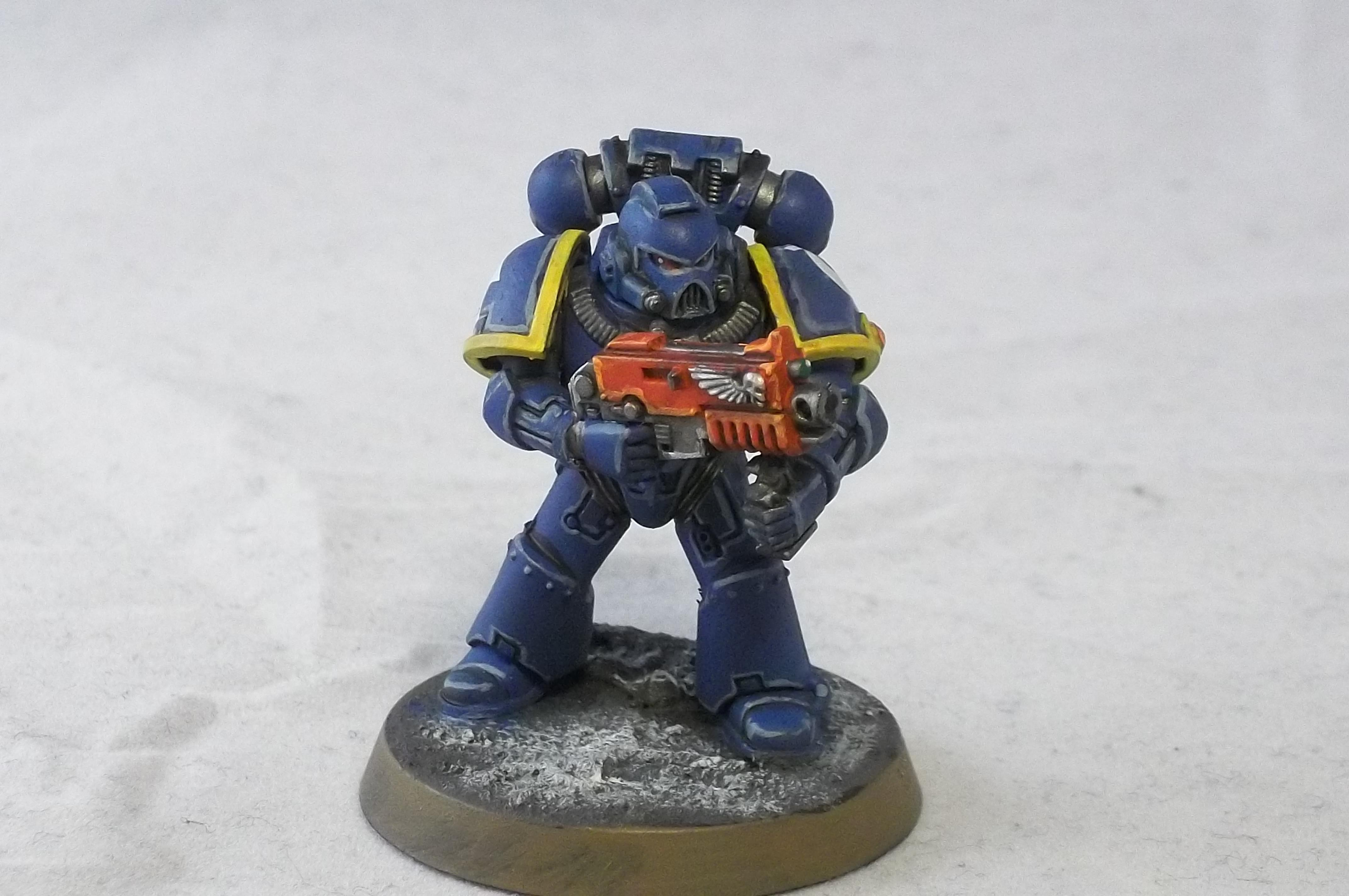 2nd Edition, Retro, Tactical Squad, Ultramarines
