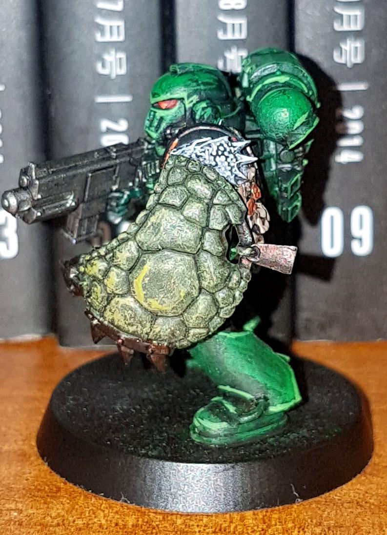 Salamander Breacher Legionary