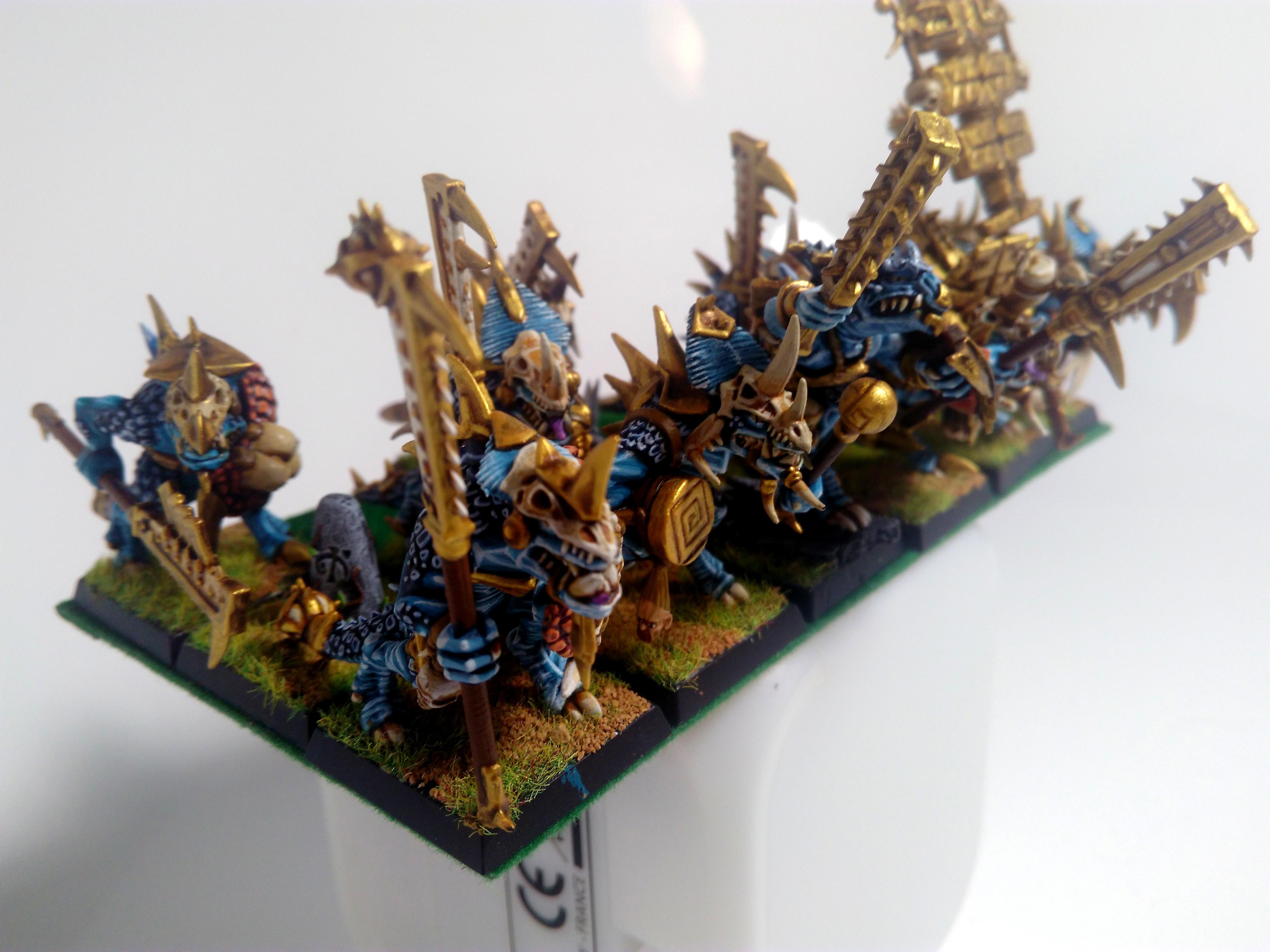 Lizardmen, Seraphon, Temple Guard