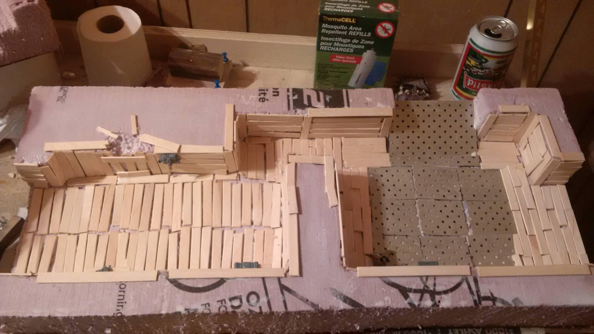 Terrain, Trench, Trenches, Work In Progress, Wwi