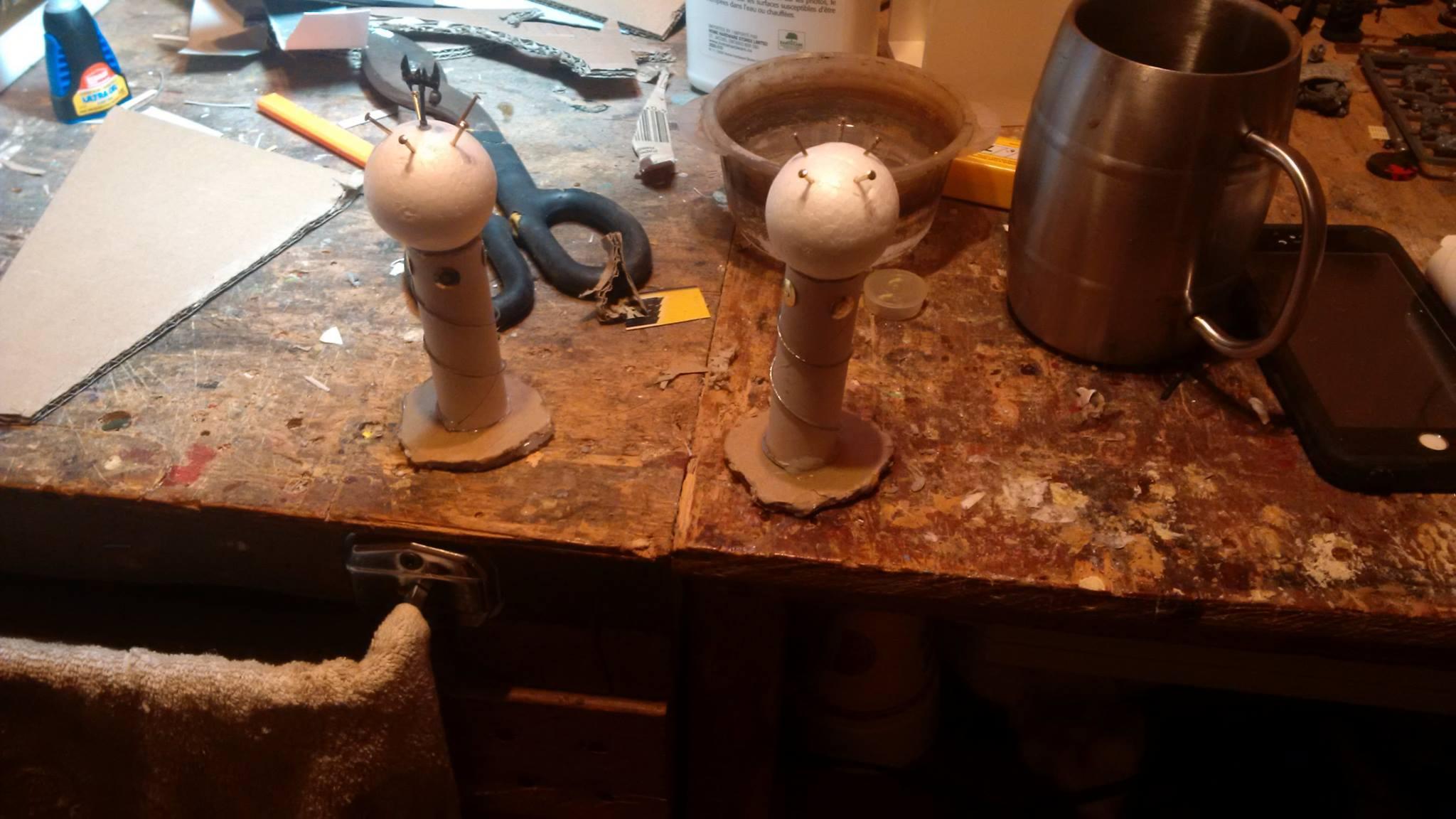 Orks, Tesla Coils, Void Shields, Work In Progress
