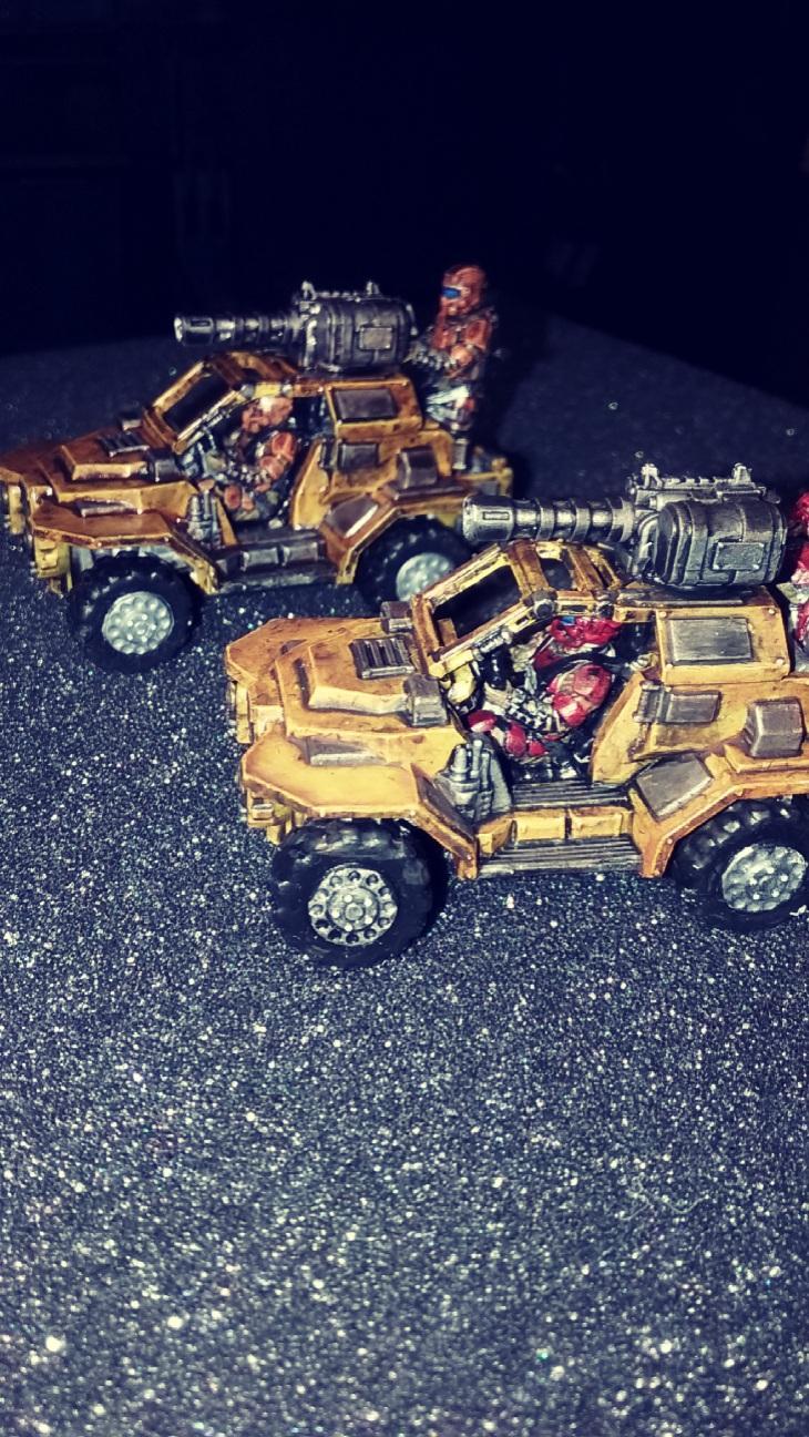 Afterlife, Instigator Assault Vehicles, Republic