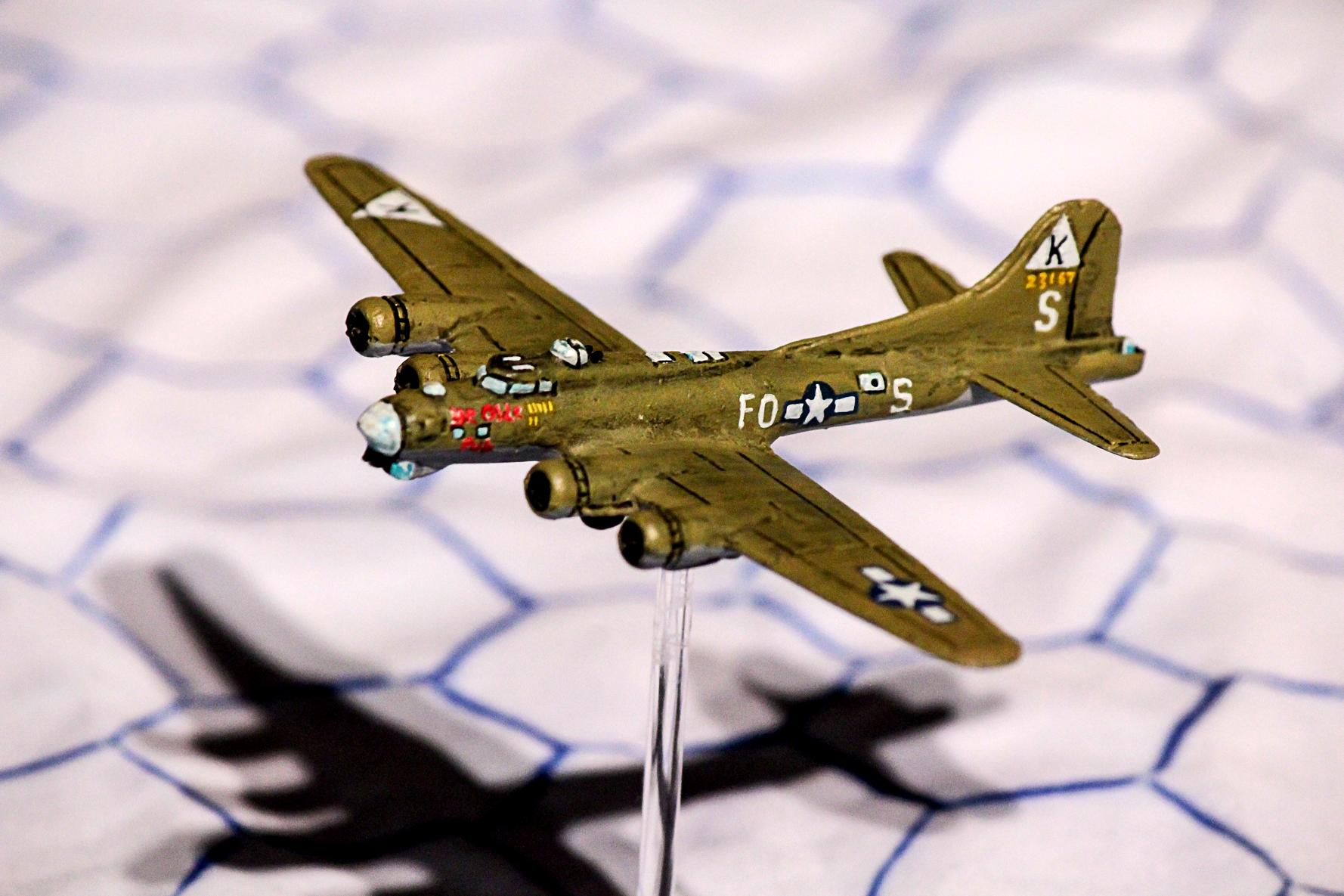 1:300, 1:300 Scale, 6mm, 6mm Scale, Air Combat, Airborne, Aircraft, Airplane, America, Aviation, B-17, Bomber, Check Your 6!, Fliers, Flying Fortress, Heavy Bomber, Historical, Usaaf, World War 2