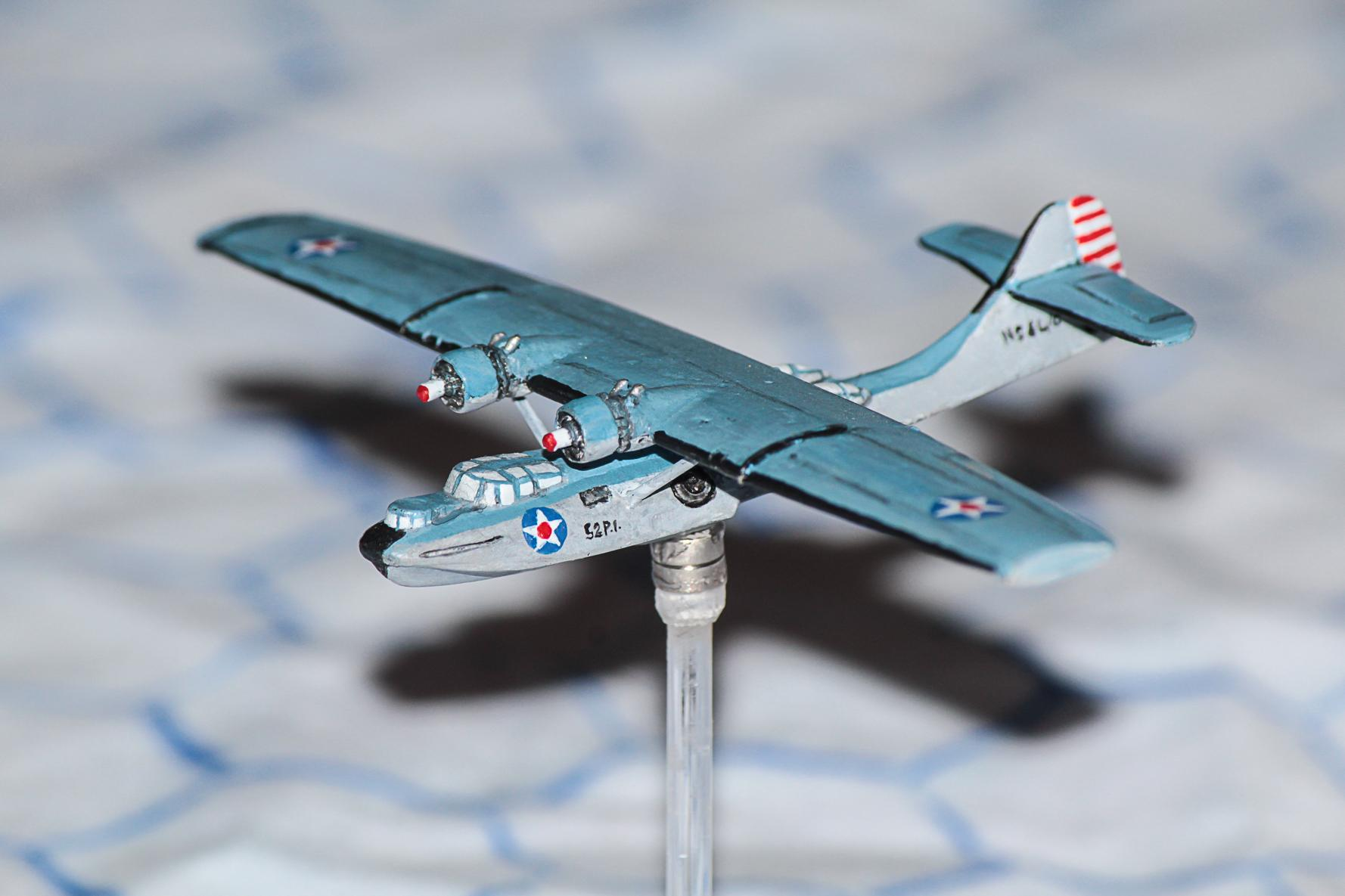 1:300, 6mm, Airborne, Aircraft, Airplane, Aviation, Bomber, Check Your 6!, Fliers, Flying Boat, Historical, World War 2