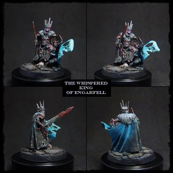 Age Of Sigmar, Death, Vampire Counts, Warhammer Fantasy, Wight, Wight King