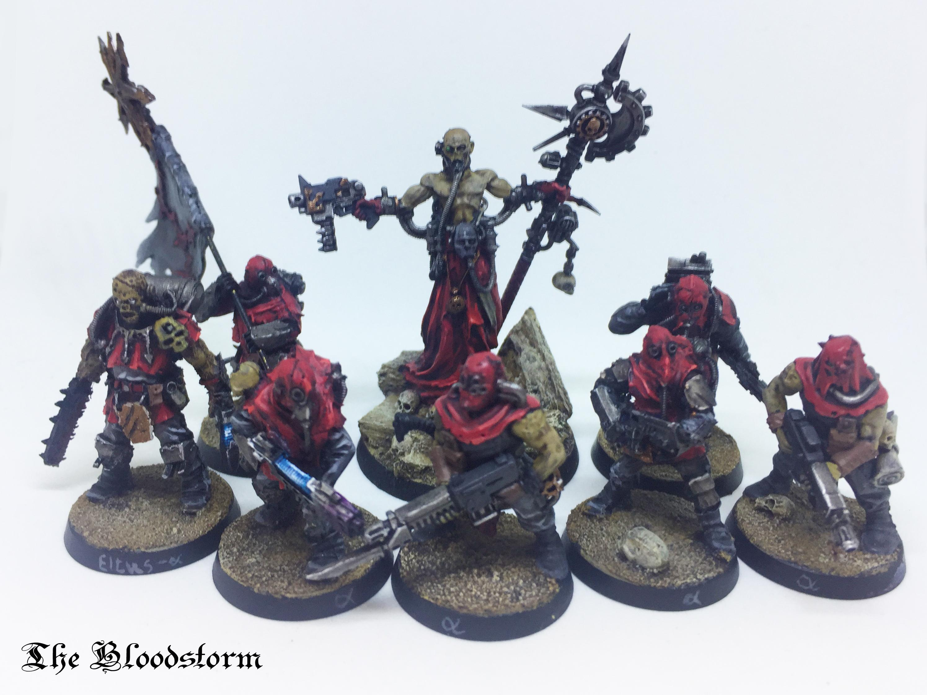 Arch-demagogue, Arch-heretic, Chaos, Cultists, Khorne, Renegade Militia Command, Renegades, Traitors, Warhammer 40,000