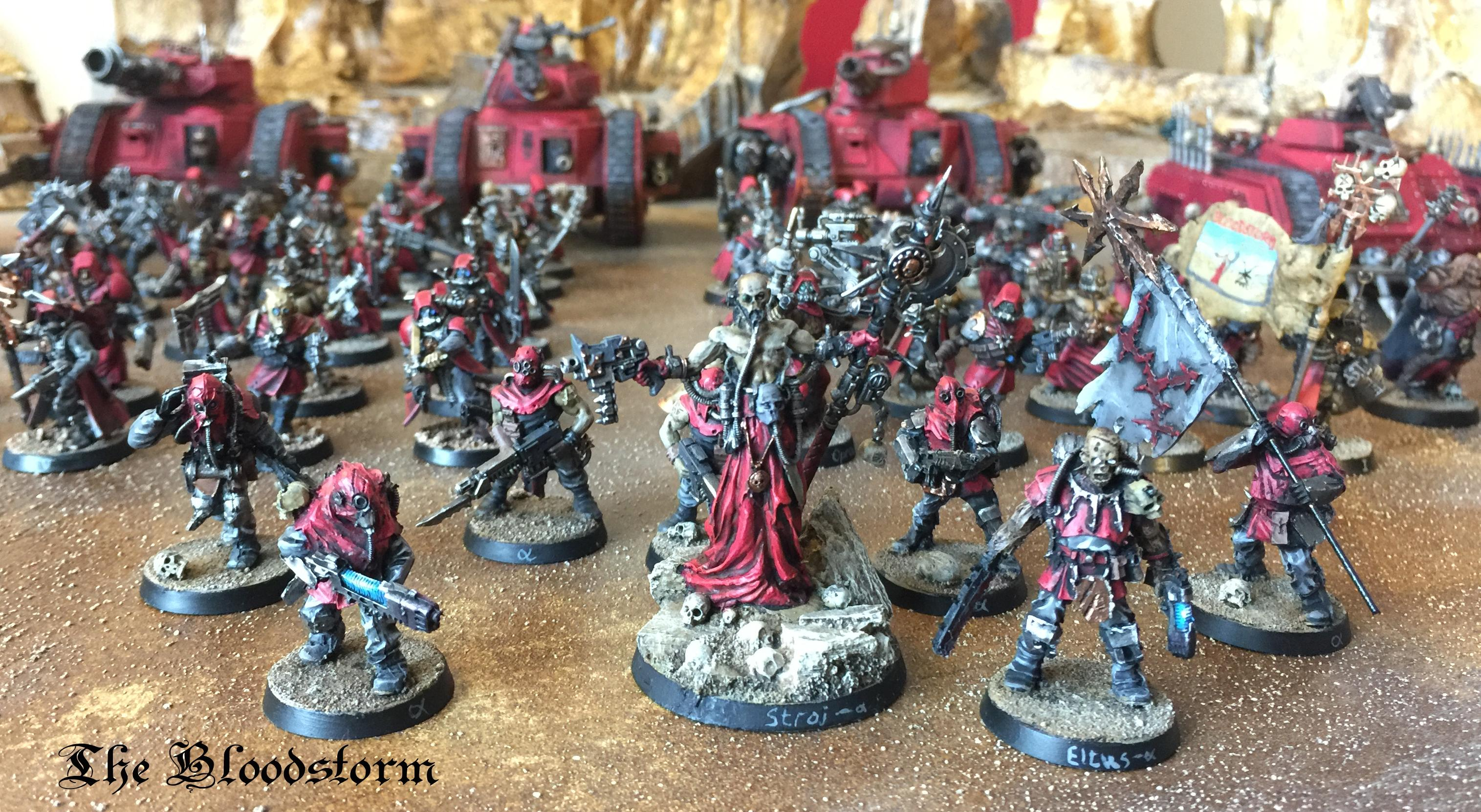 Army, Chaos, Cultists, Forge World, Khorne, Renegades, Traitors, Warhammer 40,000