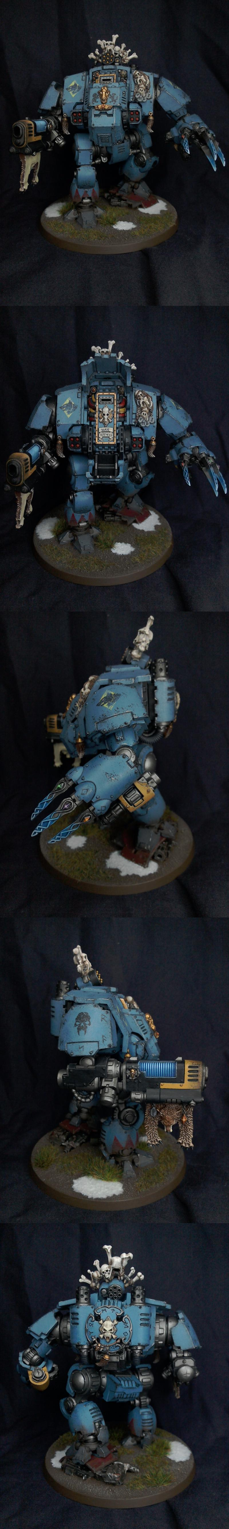 Dreadnought, Primaris, Redemptor, Space Marines, Space Wolves, Warhammer 40,000