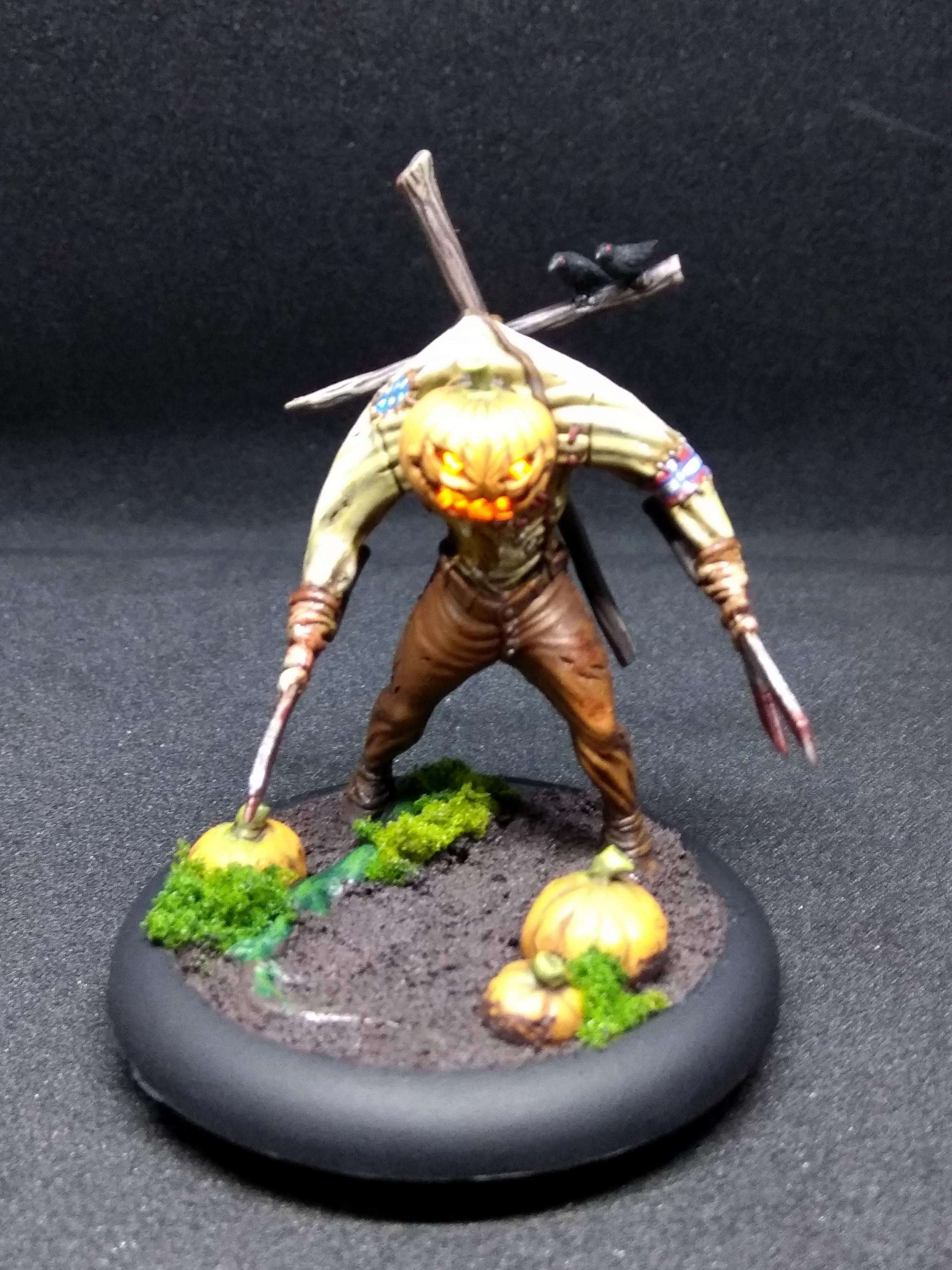 Carver, Halloween, Malifaux, Neverborn, Pumpkin