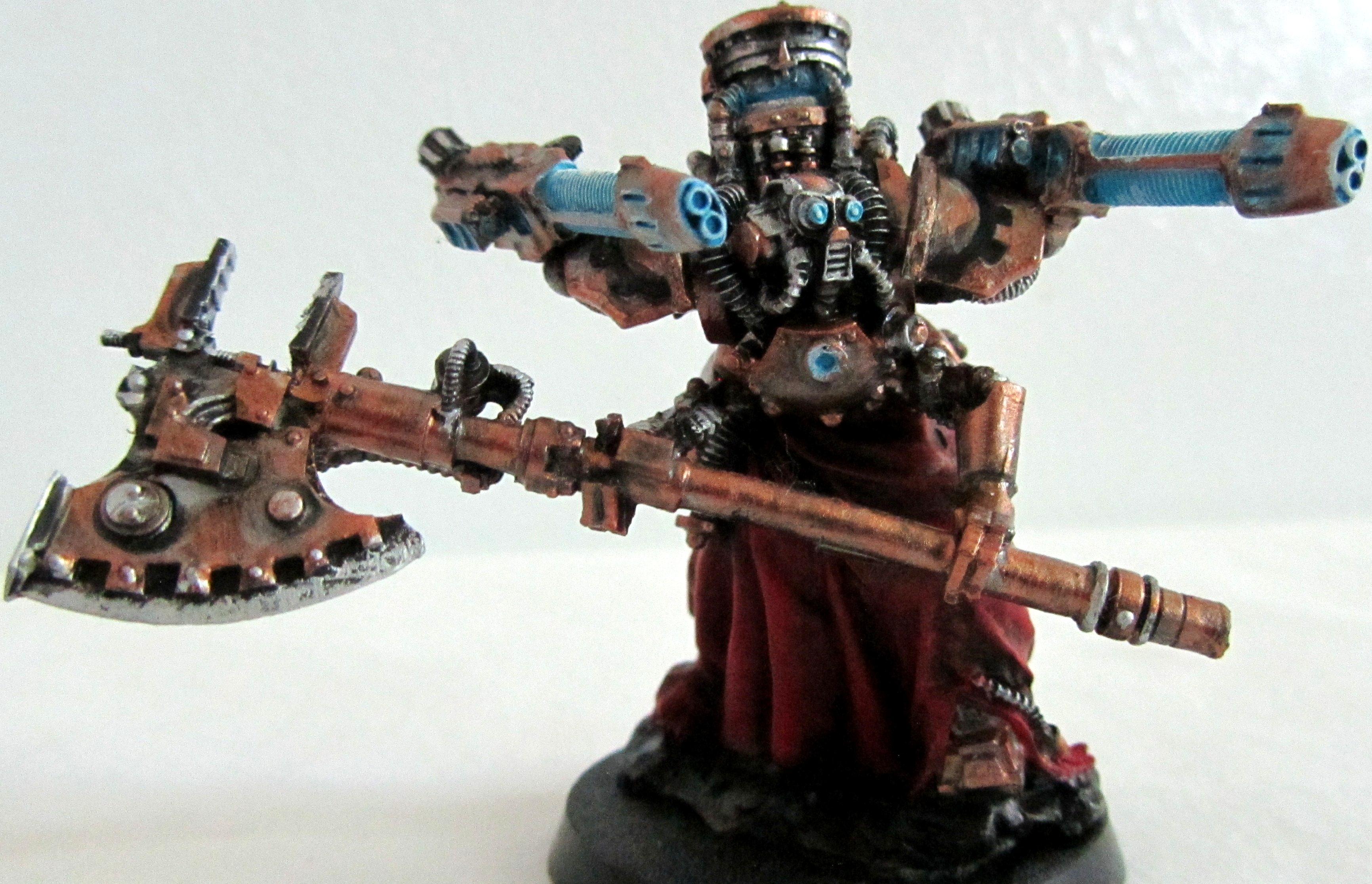 Mechanicus, Myrmidon, Tech