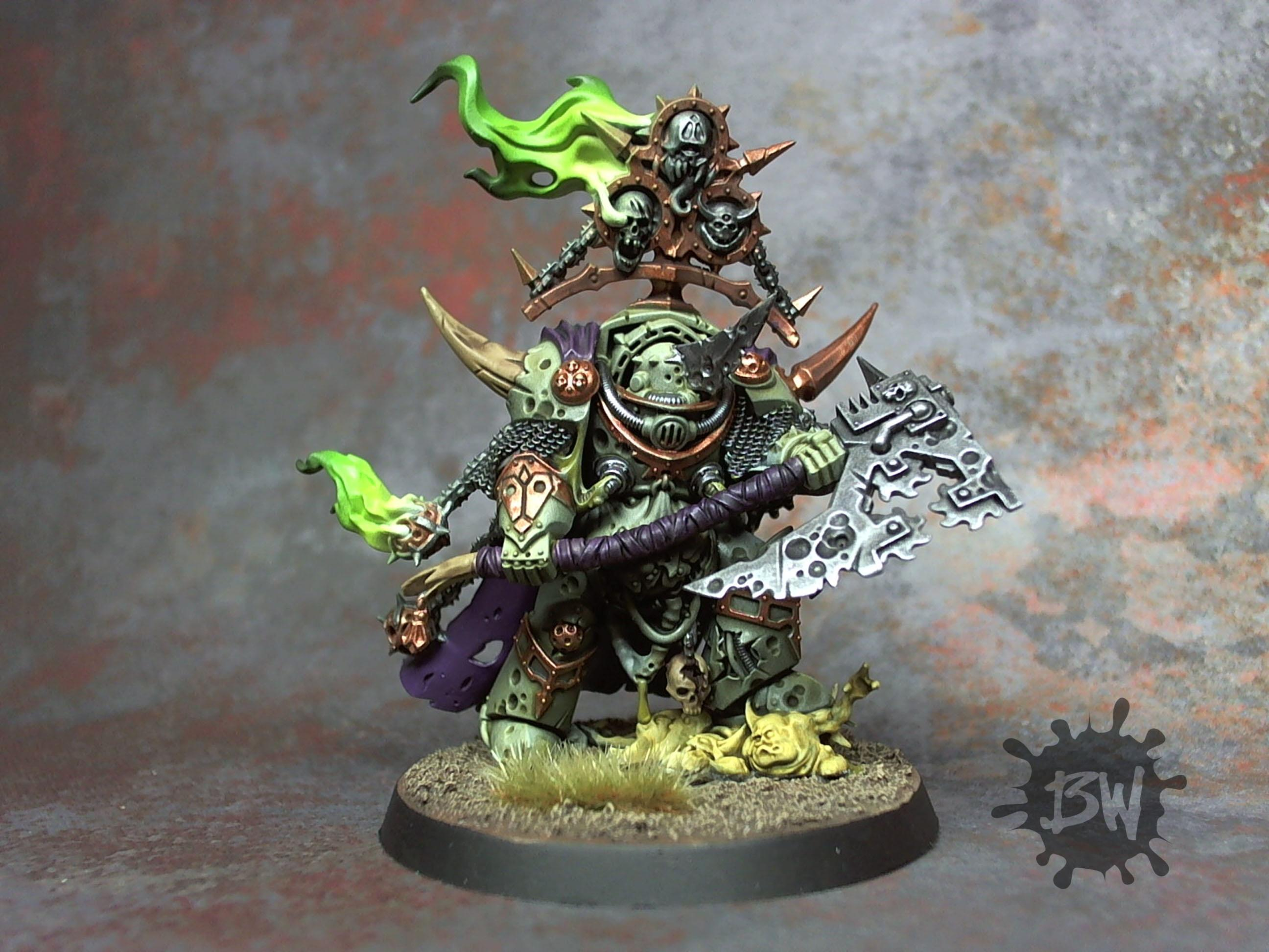 Death Guard, Lord Of Contagion, Nurgle, Warhammer 40,000