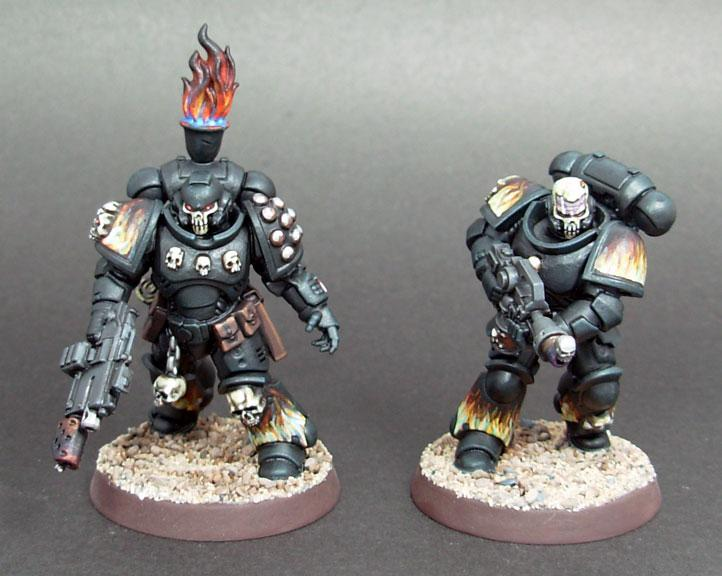 Adeptus Astartes, Conversion, Legion Of The Damned, Primaris, Space Marines