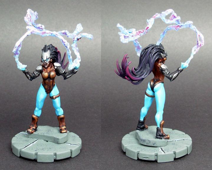 Conversion, Electric, Female, Heroclix, Rpg, Super Hero