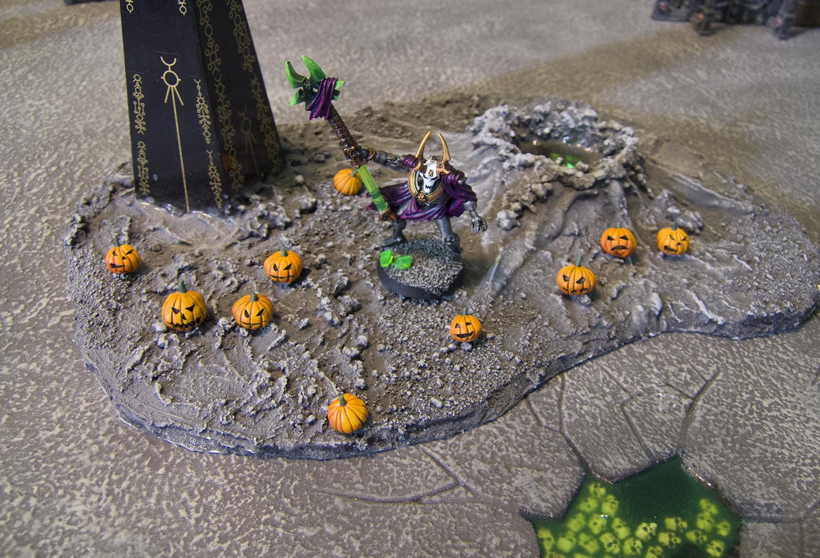 Army Box, Necron Army Box, Necron Lord, Necrons, Ouze, Pumpkin, Pumpkins