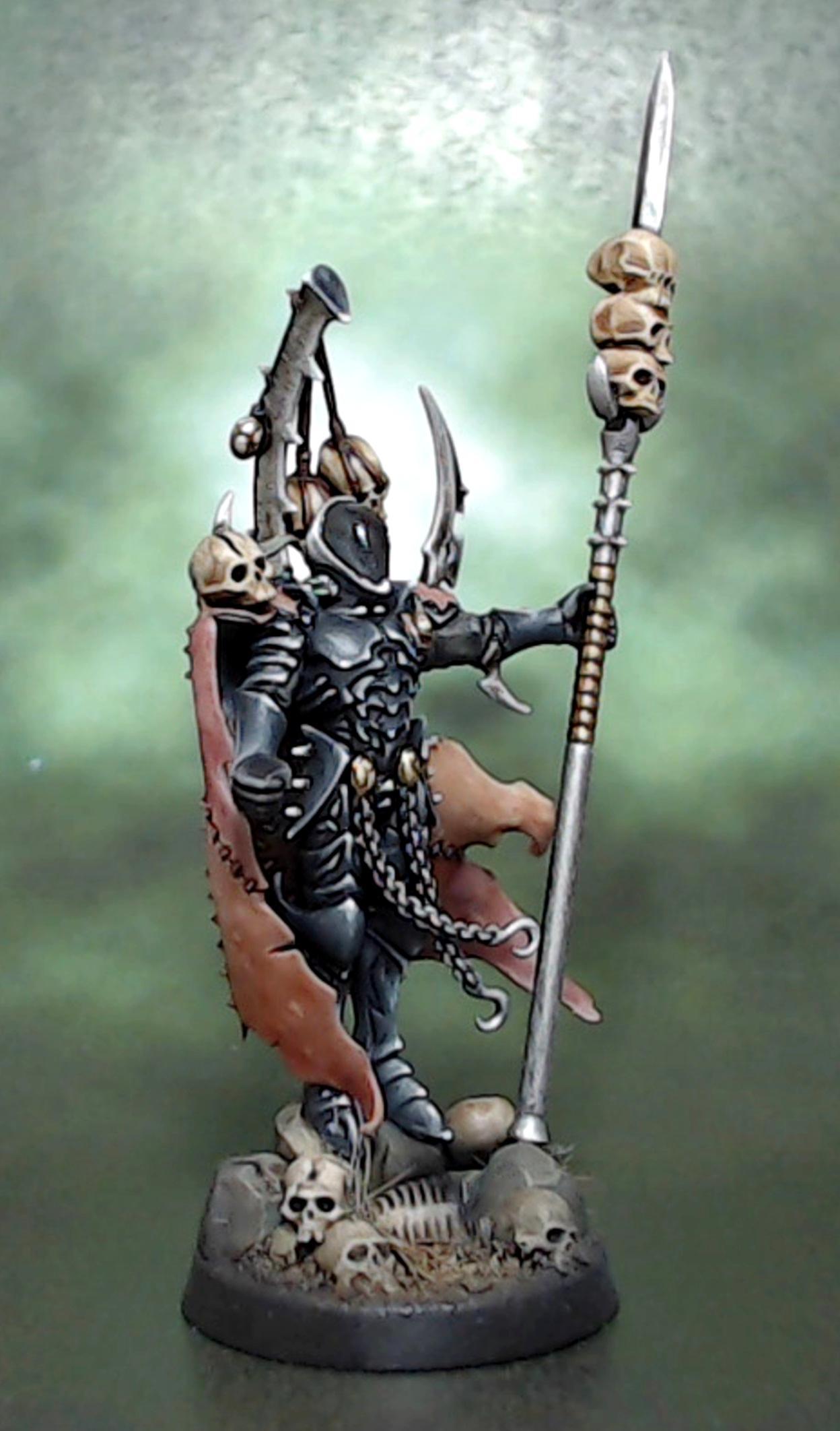 Archon, Dark, Drukhari, Eldar, Giger, Skull