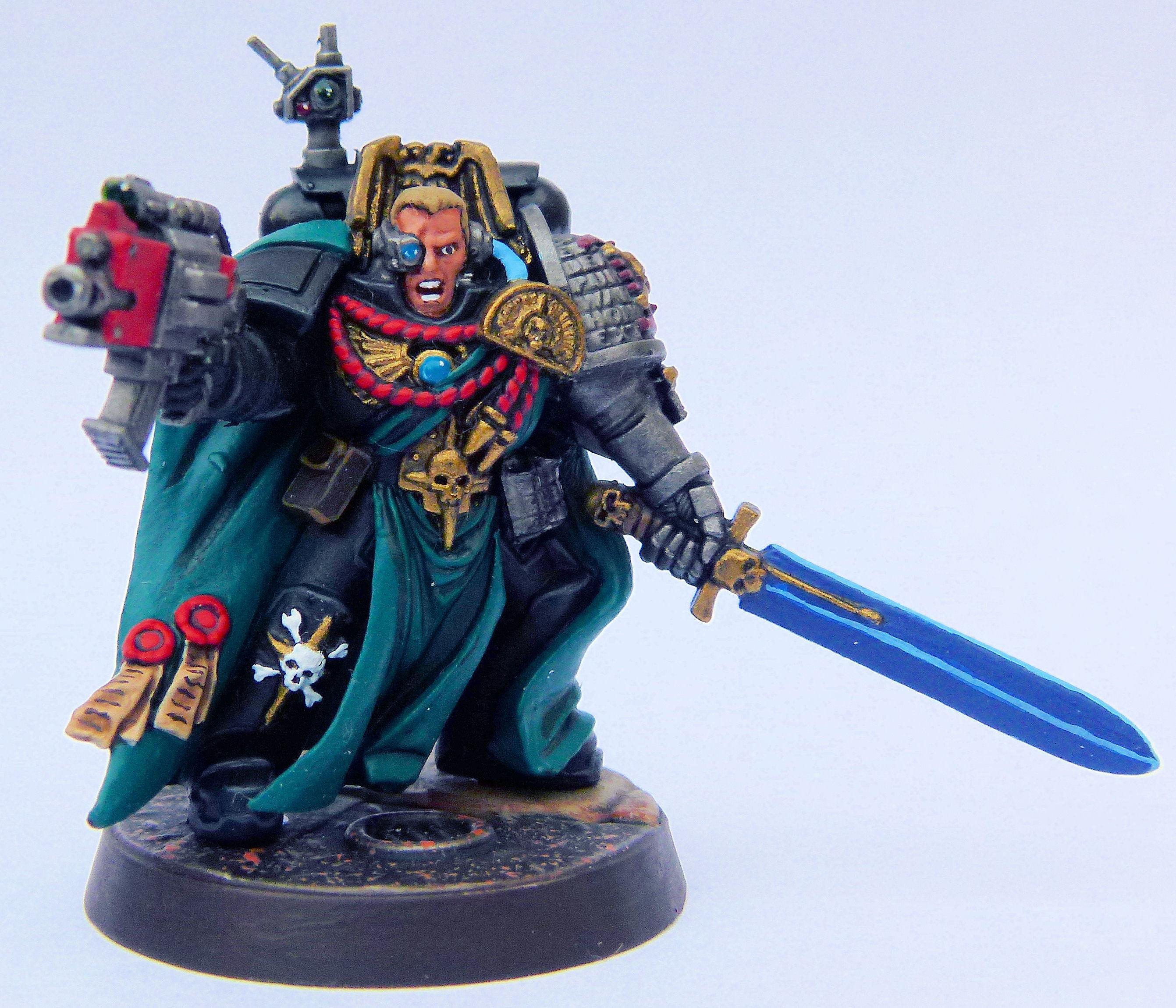 Captain, Deathwatch, Blackshield Deathwatch Veteran Front
