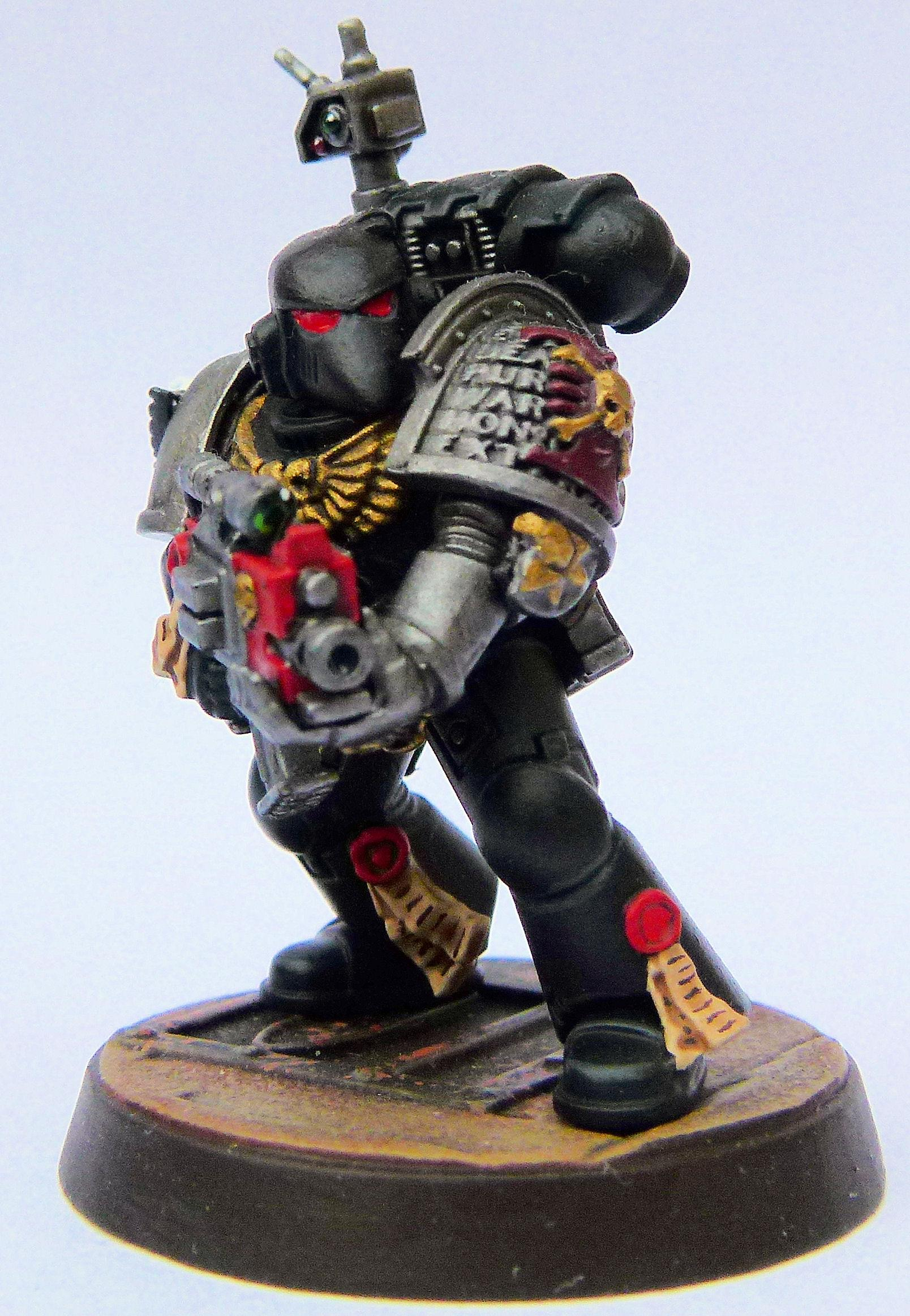 Doom Eagles Deathwatch Veteran Front